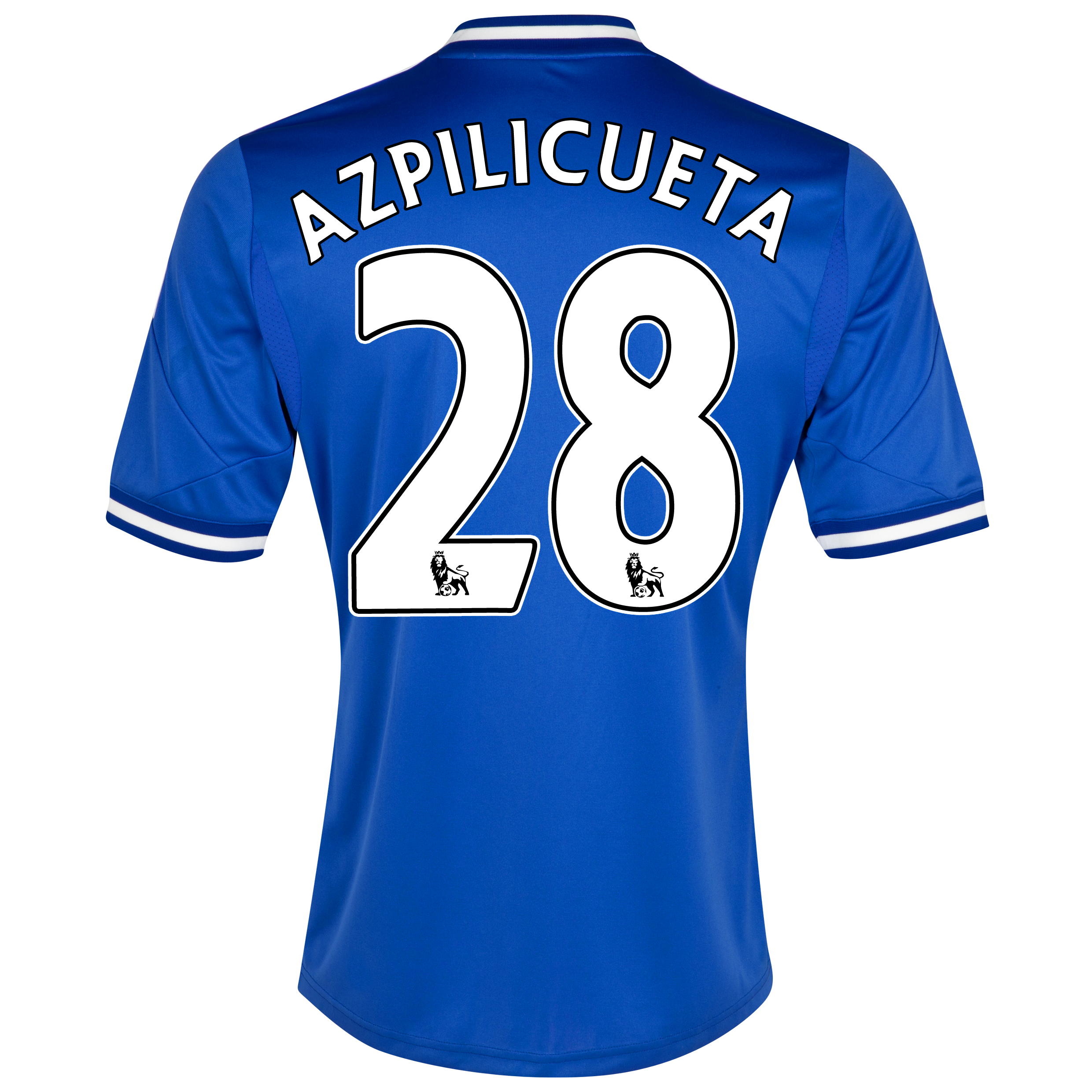 Chelsea Home Shirt 2013/14 with Azpilicueta 28 printing