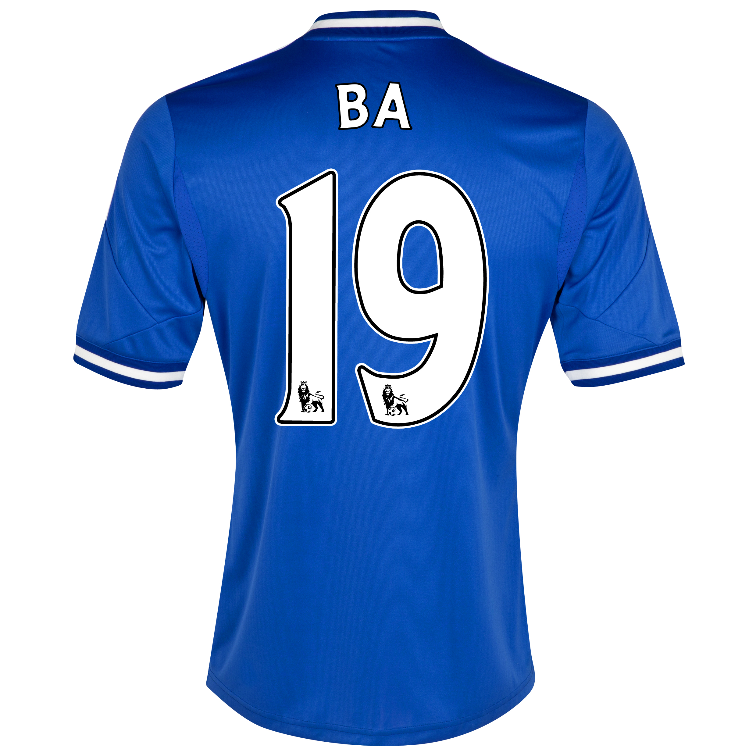 Chelsea Home Shirt 2013/14 with Ba 19 printing