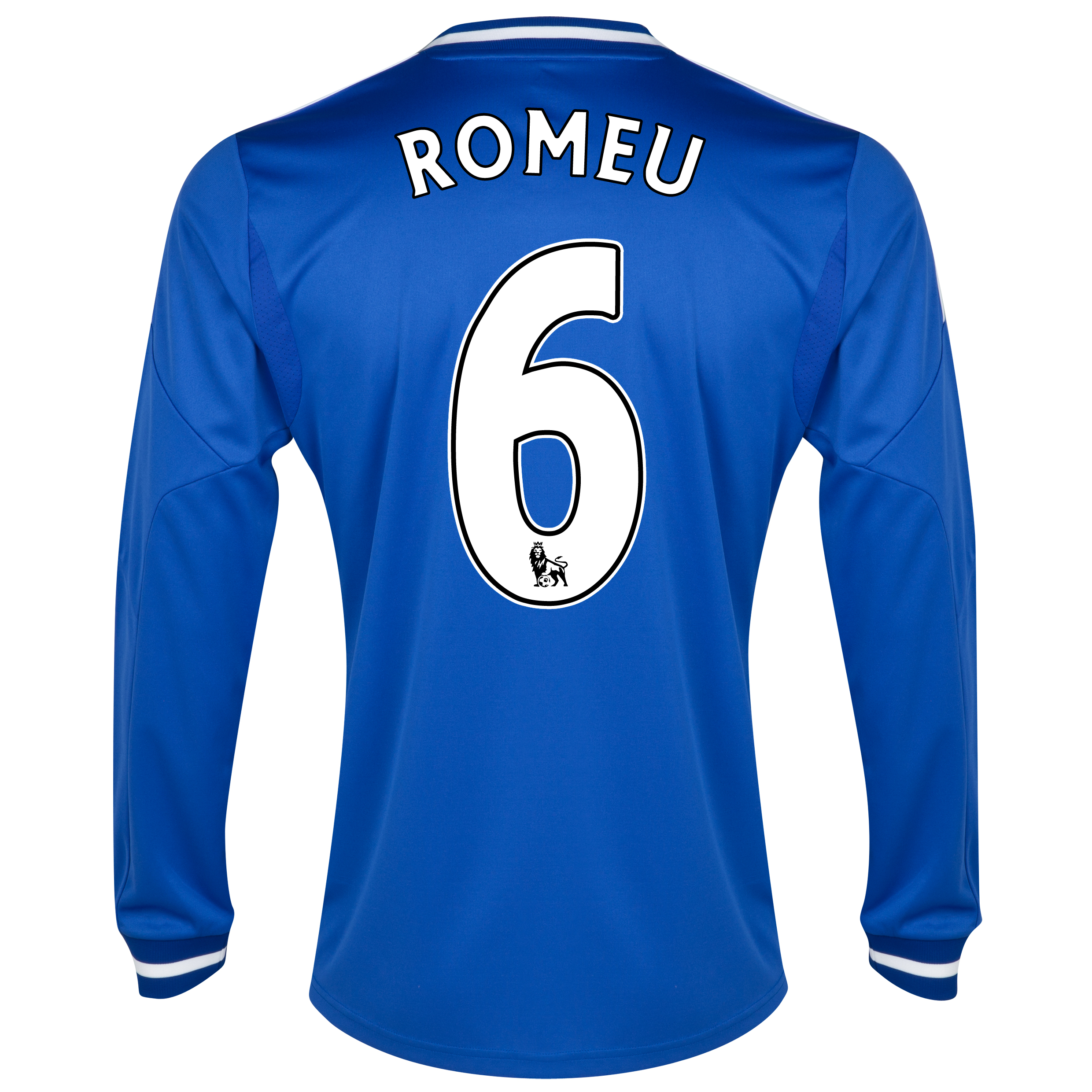 Chelsea Home Shirt 2013/14 - Long Sleeve with Romeu 6 printing