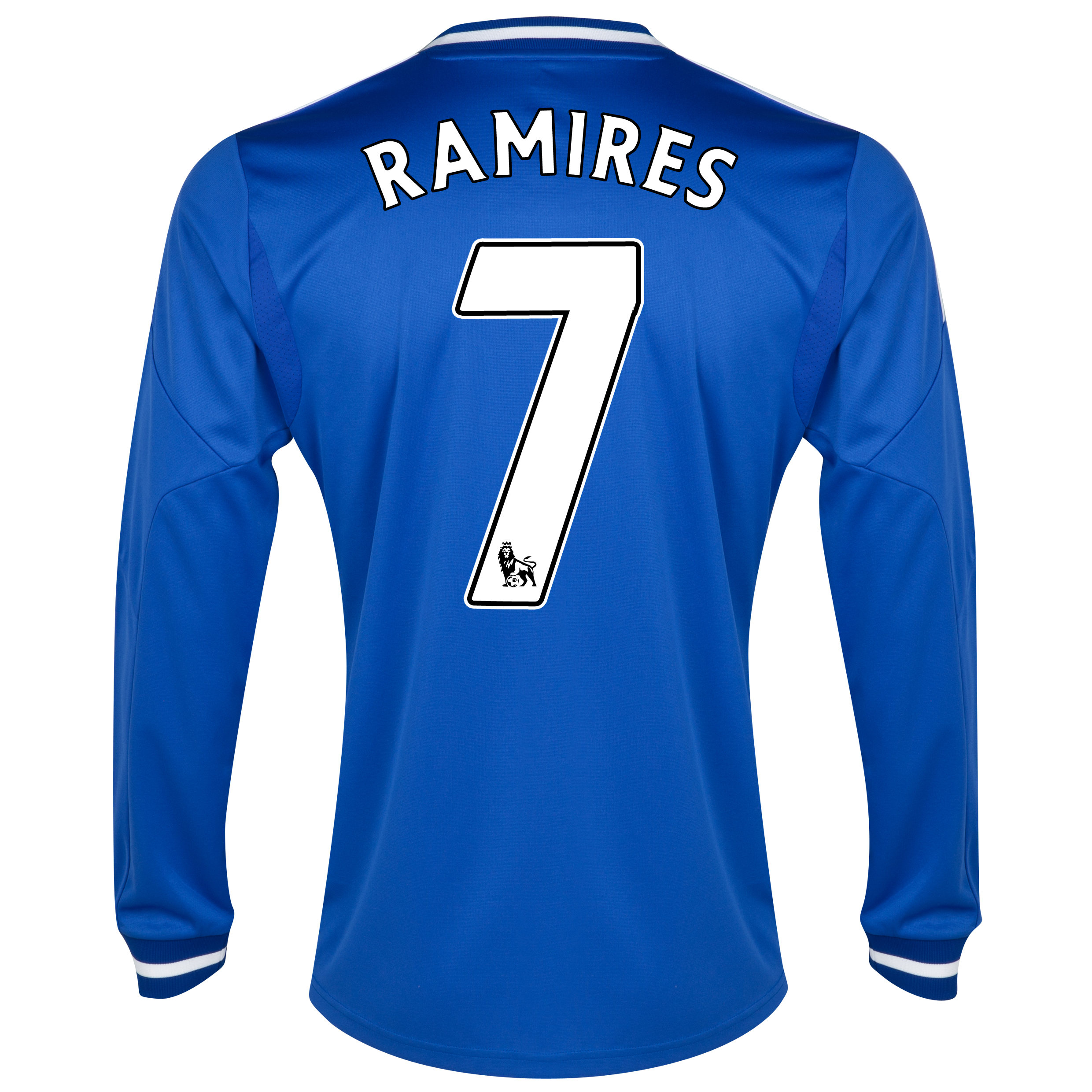Chelsea Home Shirt 2013/14 - Long Sleeve with Ramires 7 printing