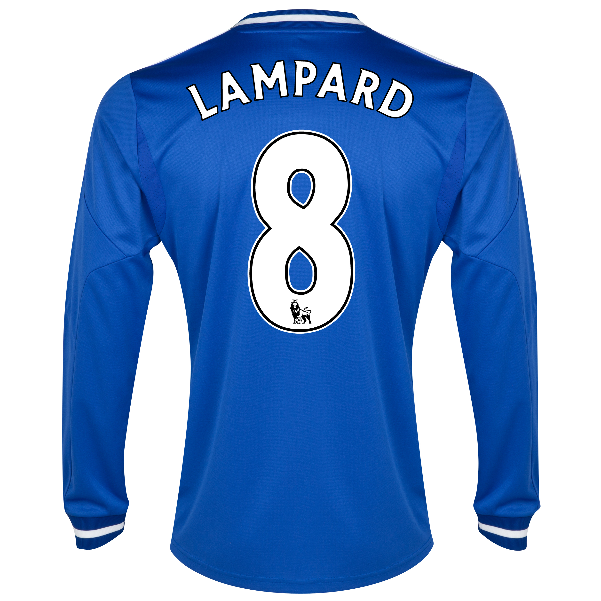 Chelsea Home Shirt 2013/14 - Long Sleeve with Lampard 8 printing