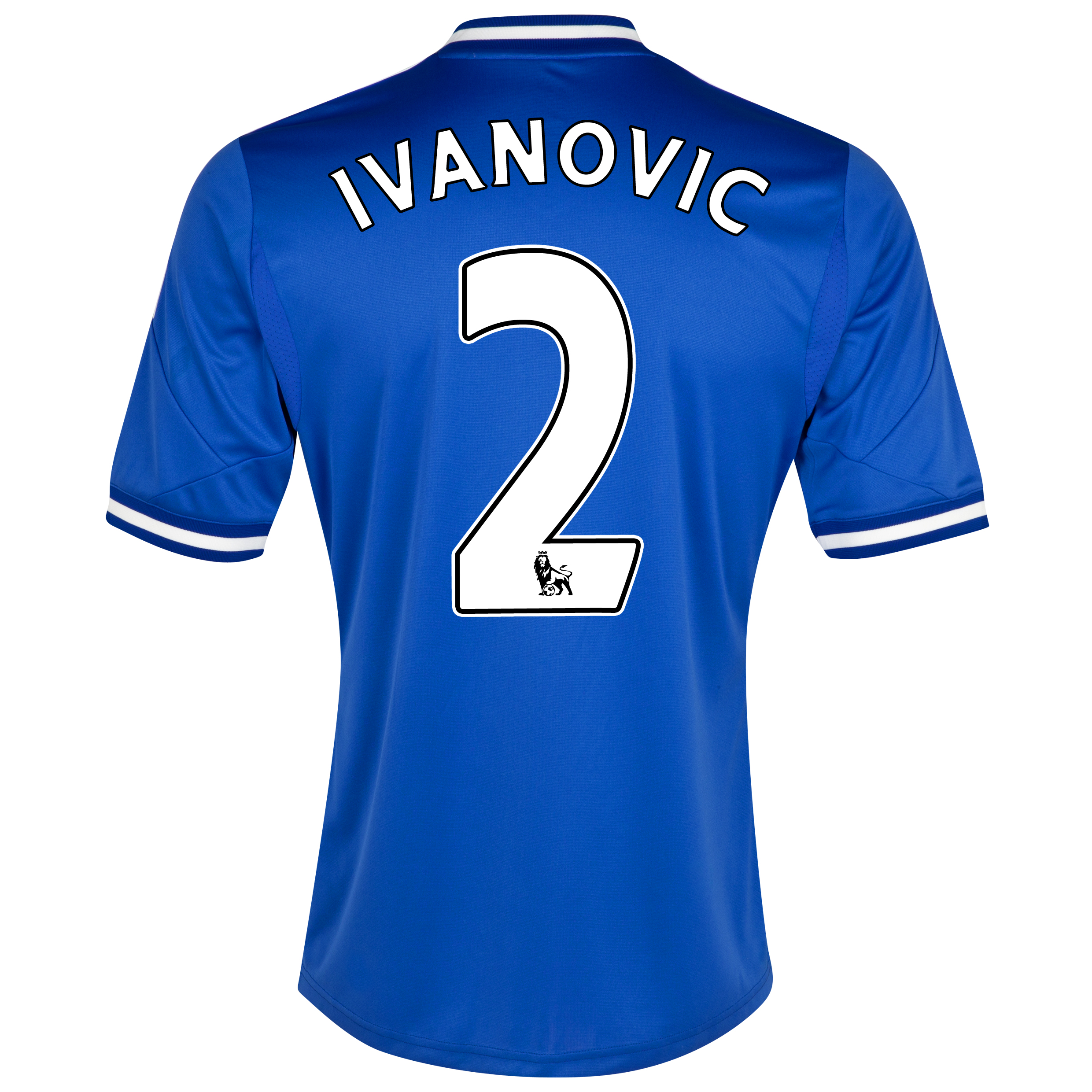 Chelsea Home Shirt 2013/14 - Kids with Ivanovic 2 printing