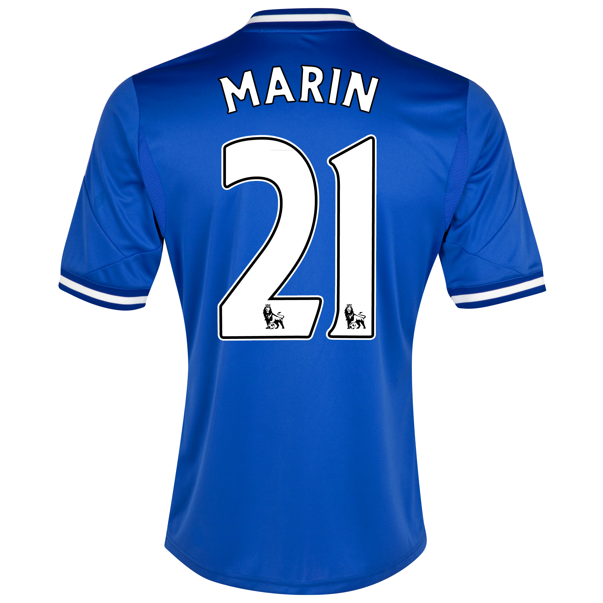 Chelsea Home Shirt 2013/14 - Kids with Marin 21 printing