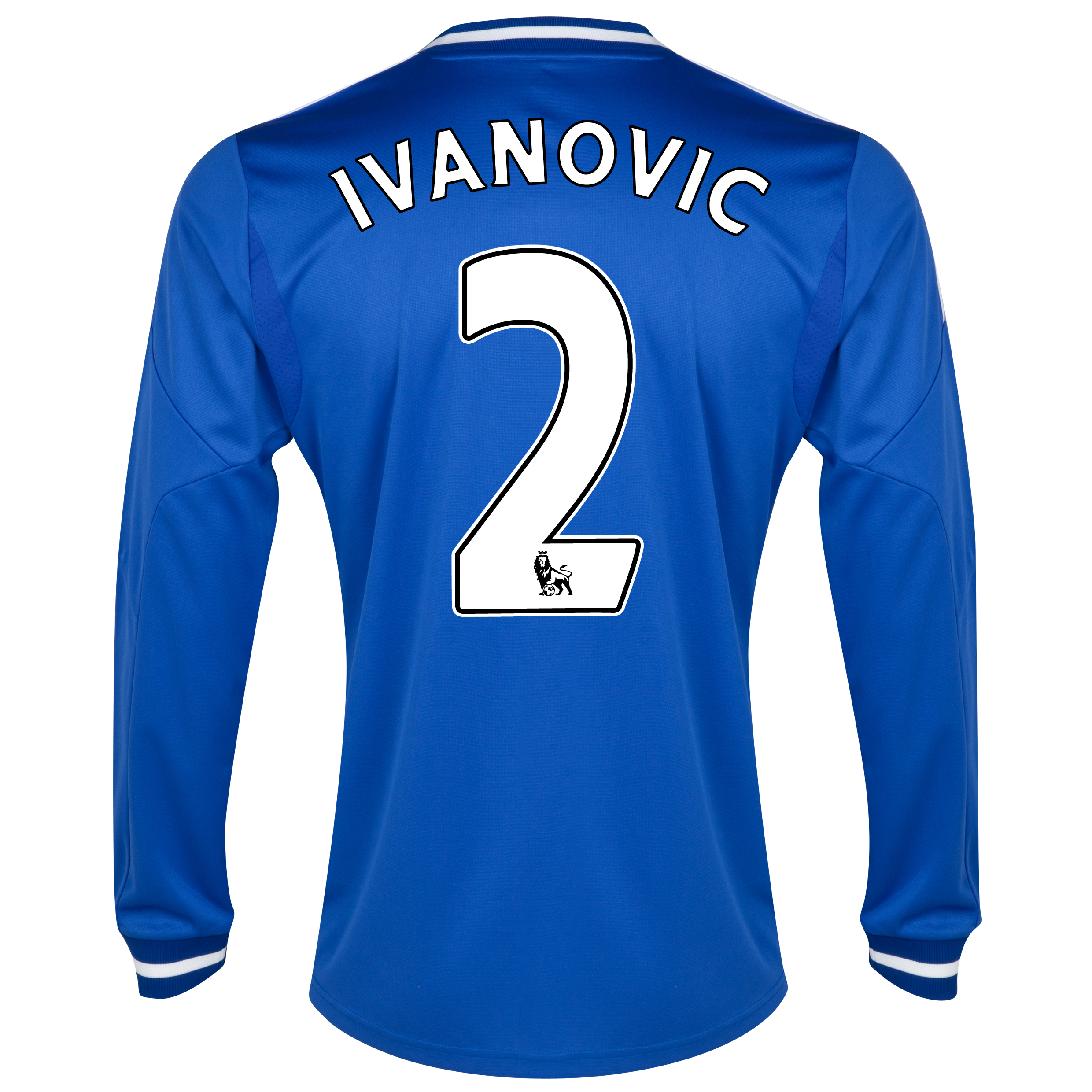 Chelsea Home Shirt 2013/14 - Long Sleeve - Kids with Ivanovic 2 printing