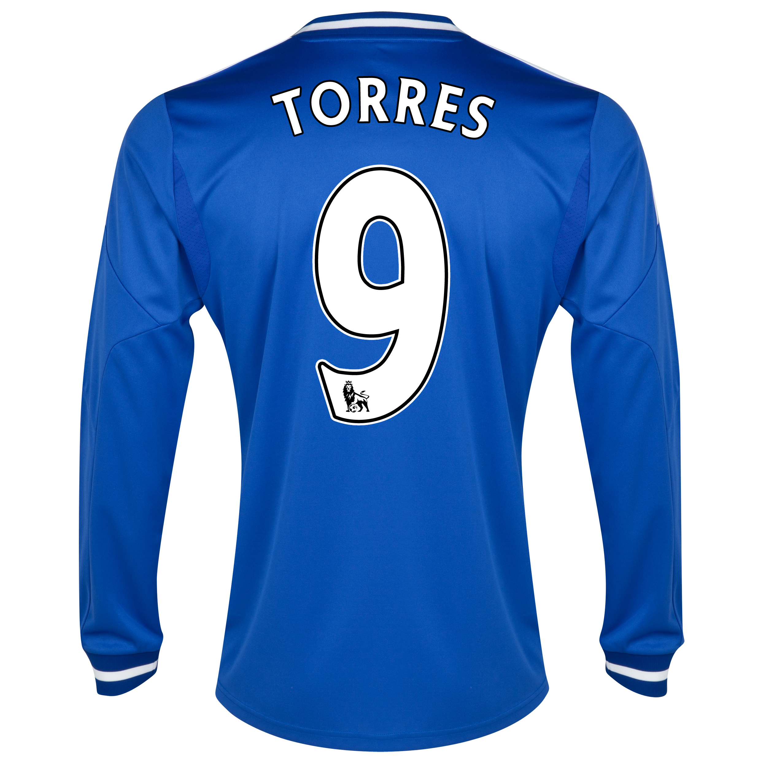 Chelsea Home Shirt 2013/14 - Long Sleeve - Kids with Torres 9 printing