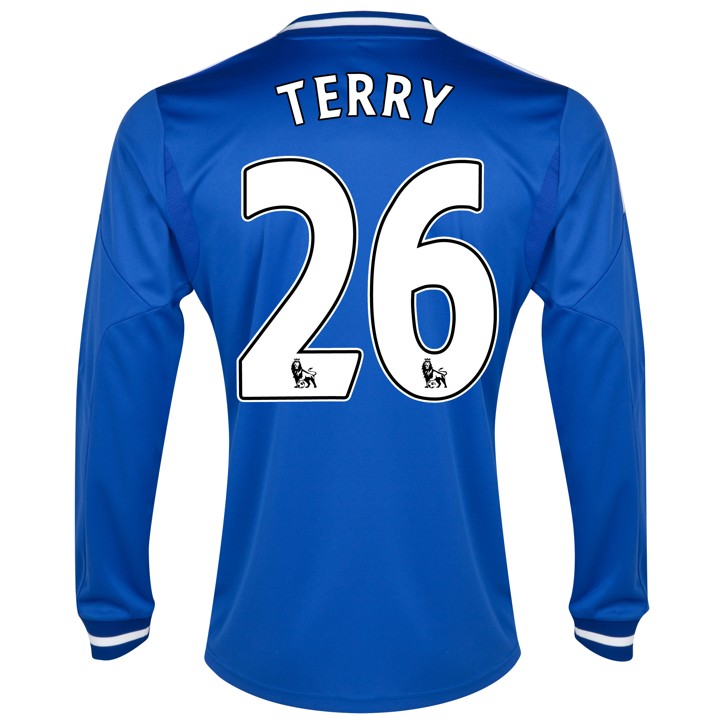 Chelsea Home Shirt 2013/14 - Long Sleeve - Kids with Terry 26 printing