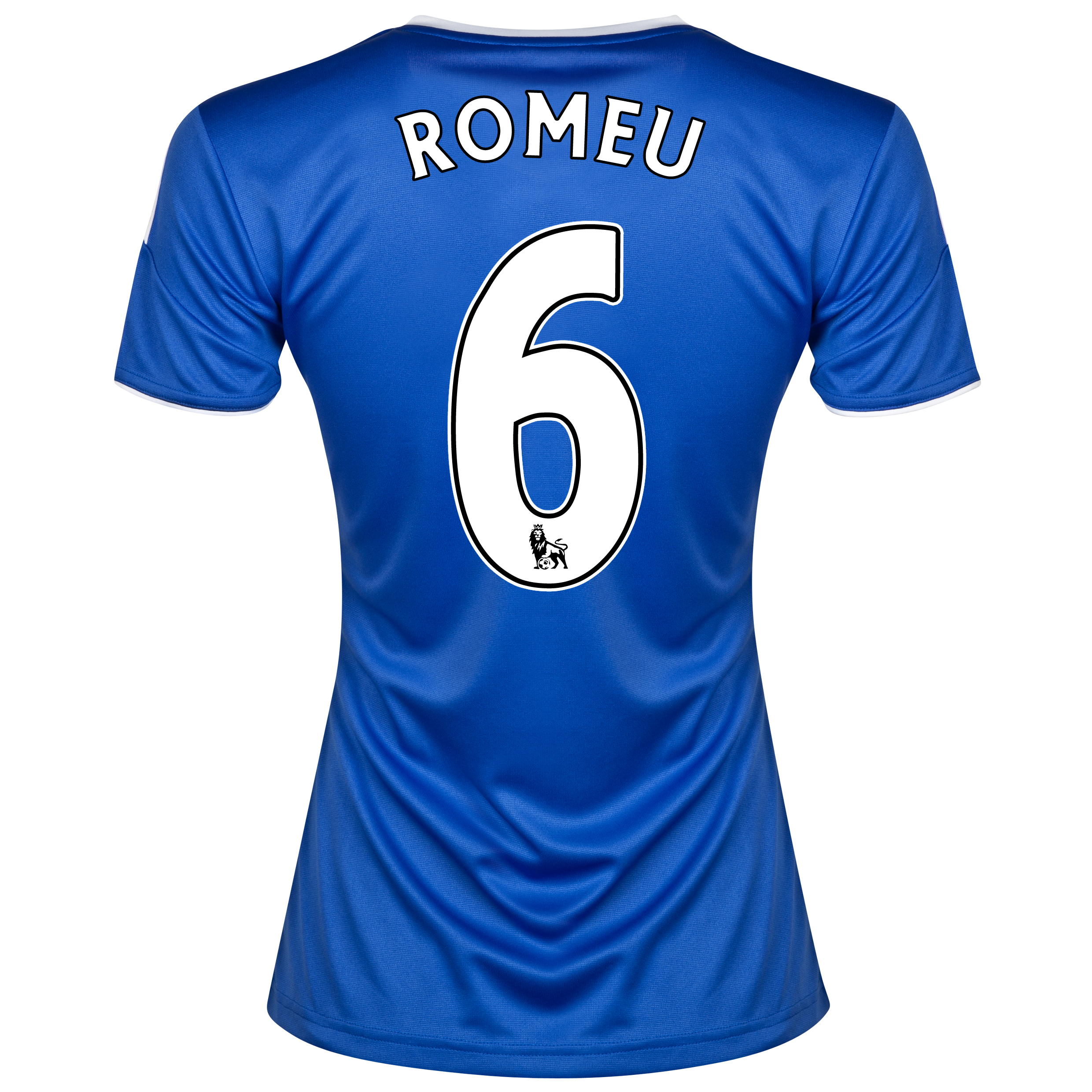 Chelsea Home Shirt 2013/14- Womens with Romeu 6 printing