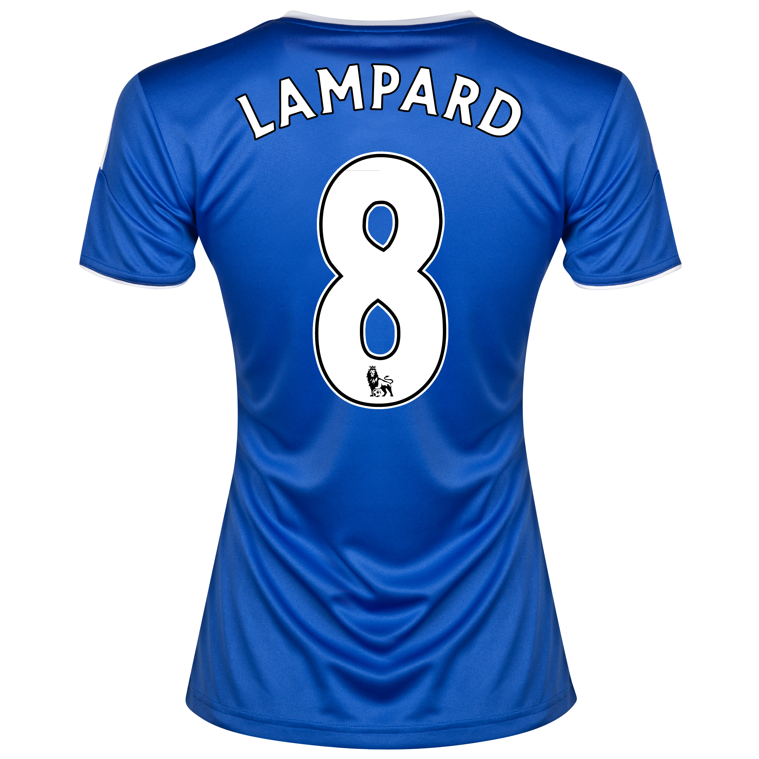 Chelsea Home Shirt 2013/14- Womens with Lampard 8 printing