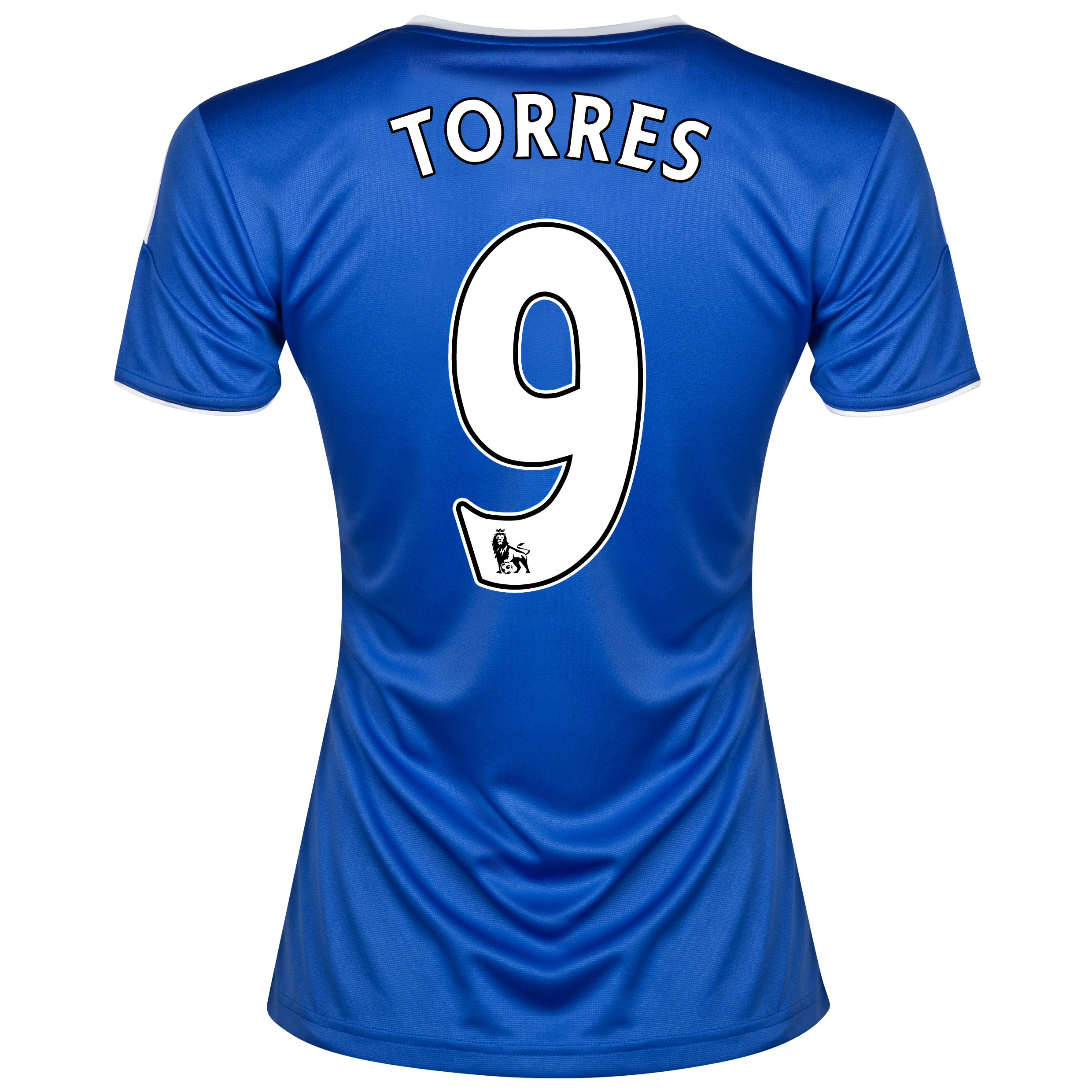 Chelsea Home Shirt 2013/14- Womens with Torres 9 printing