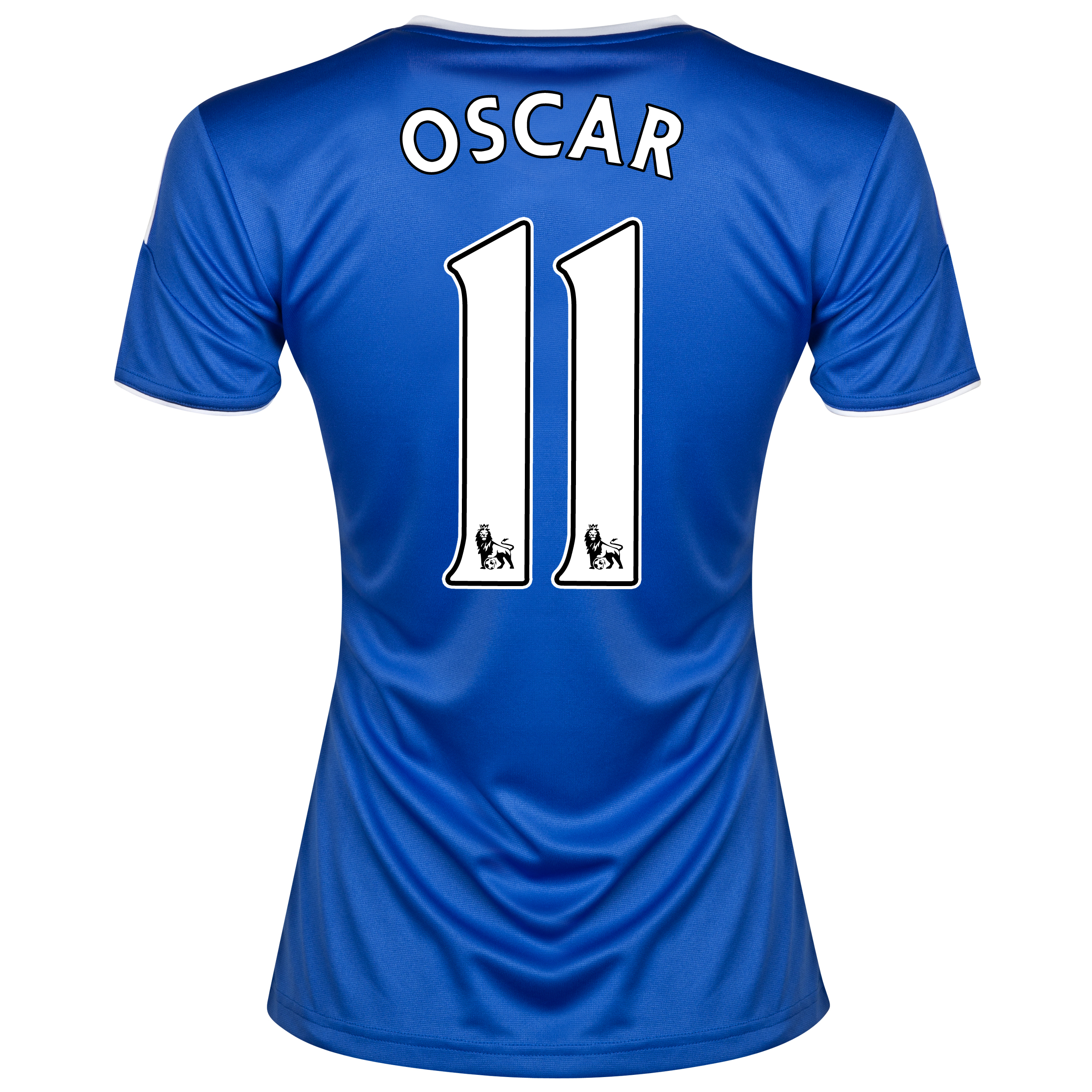 Chelsea Home Shirt 2013/14- Womens with Oscar 11 printing