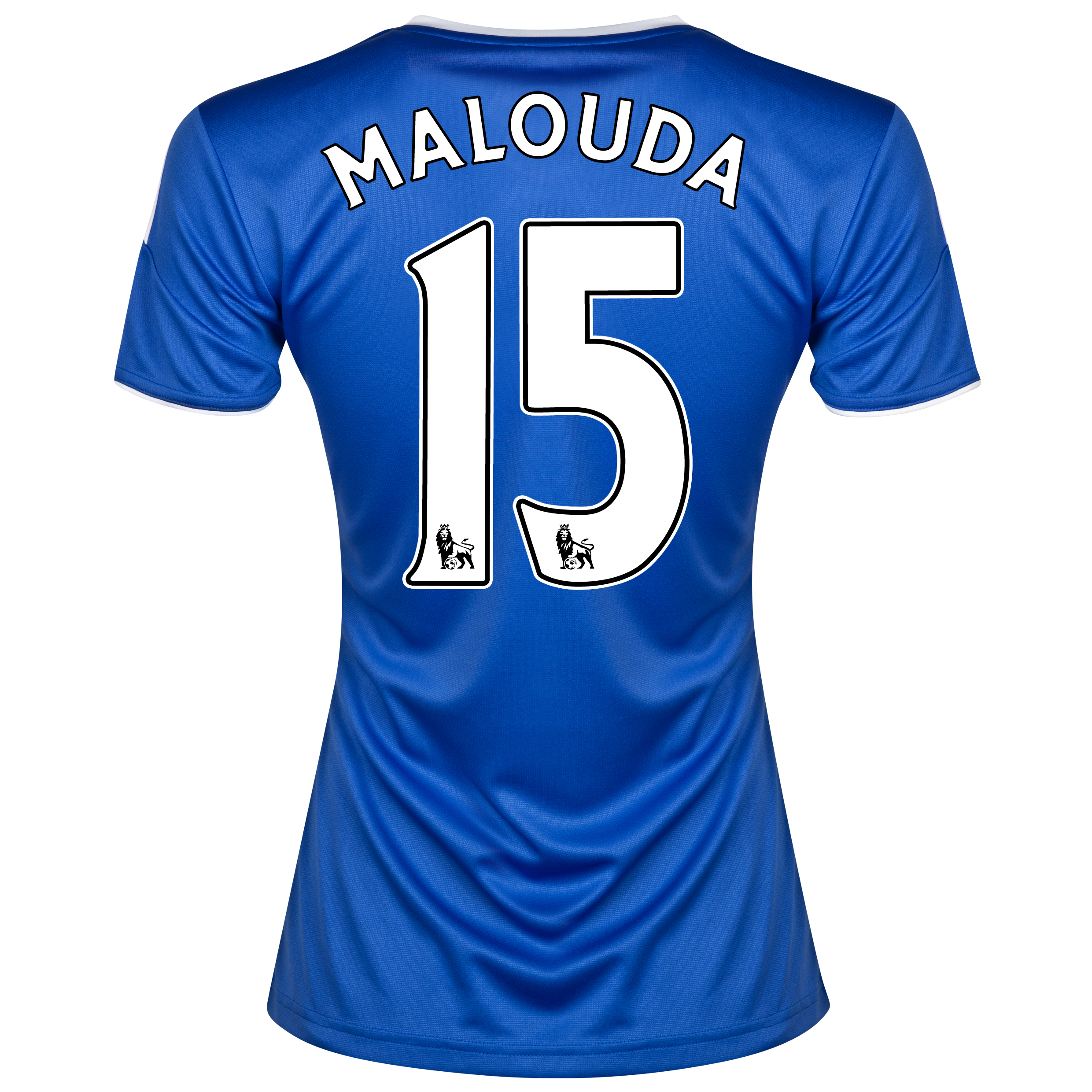 Chelsea Home Shirt 2013/14- Womens with Malouda 15 printing