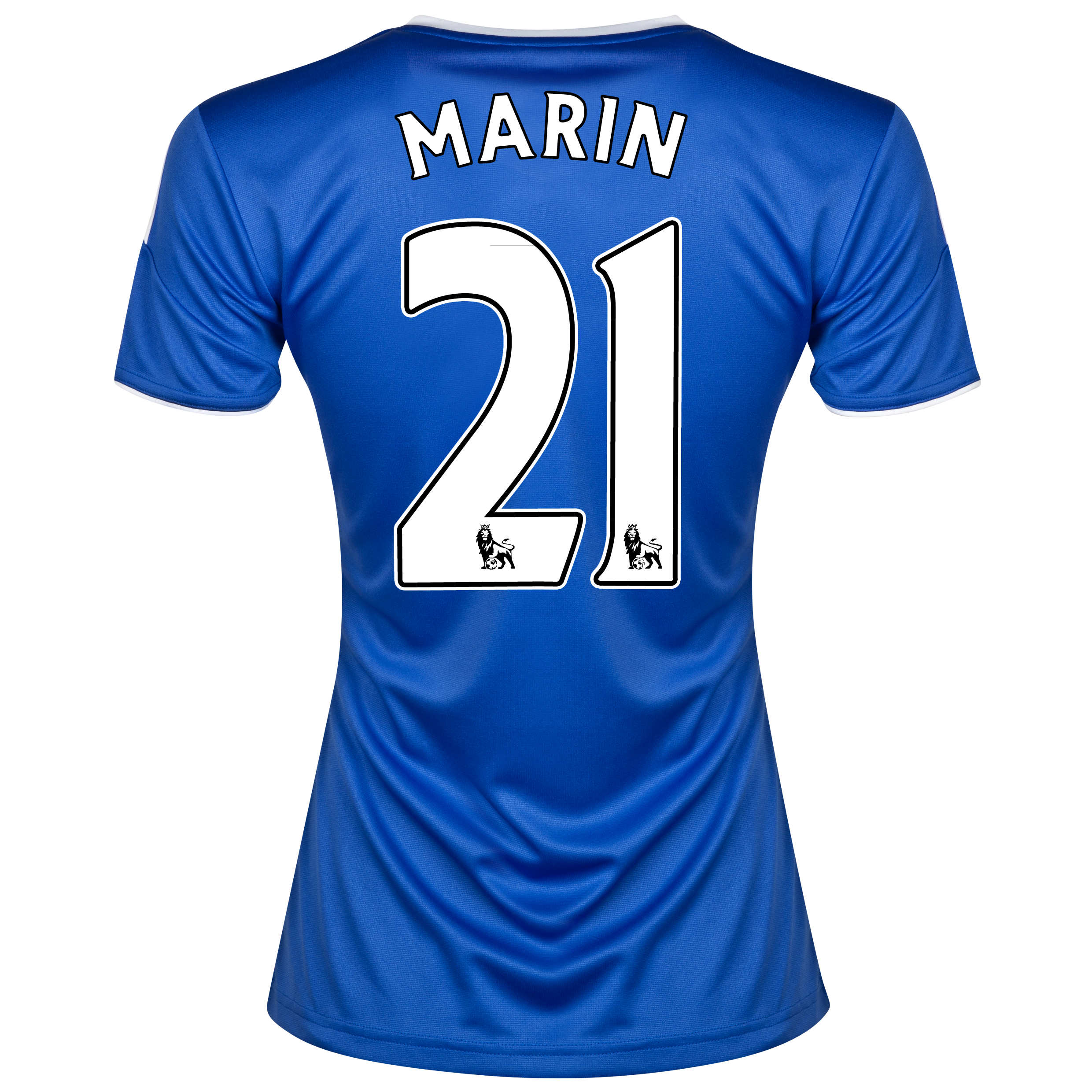 Chelsea Home Shirt 2013/14- Womens with Marin 21 printing