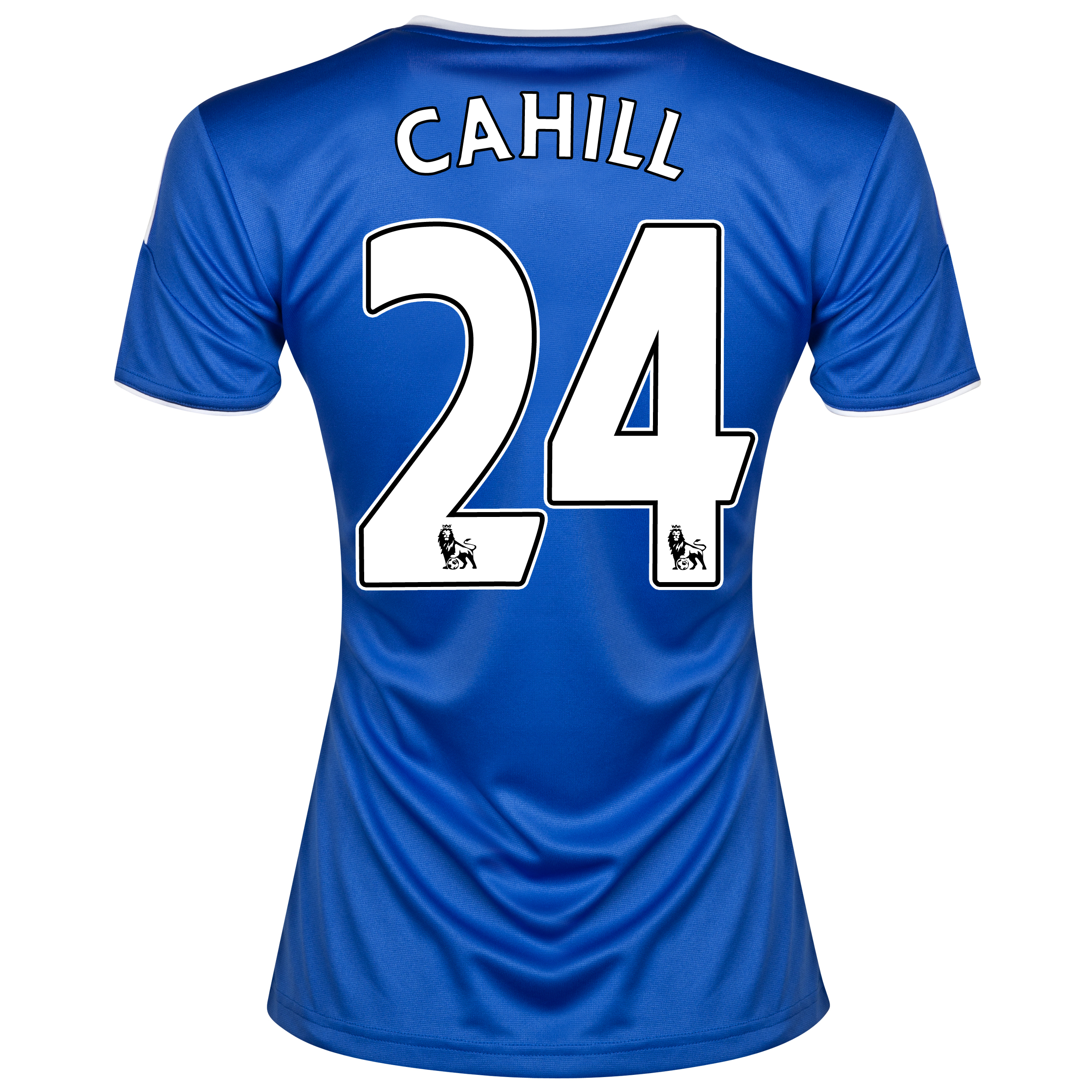 Chelsea Home Shirt 2013/14- Womens with Cahill 24 printing