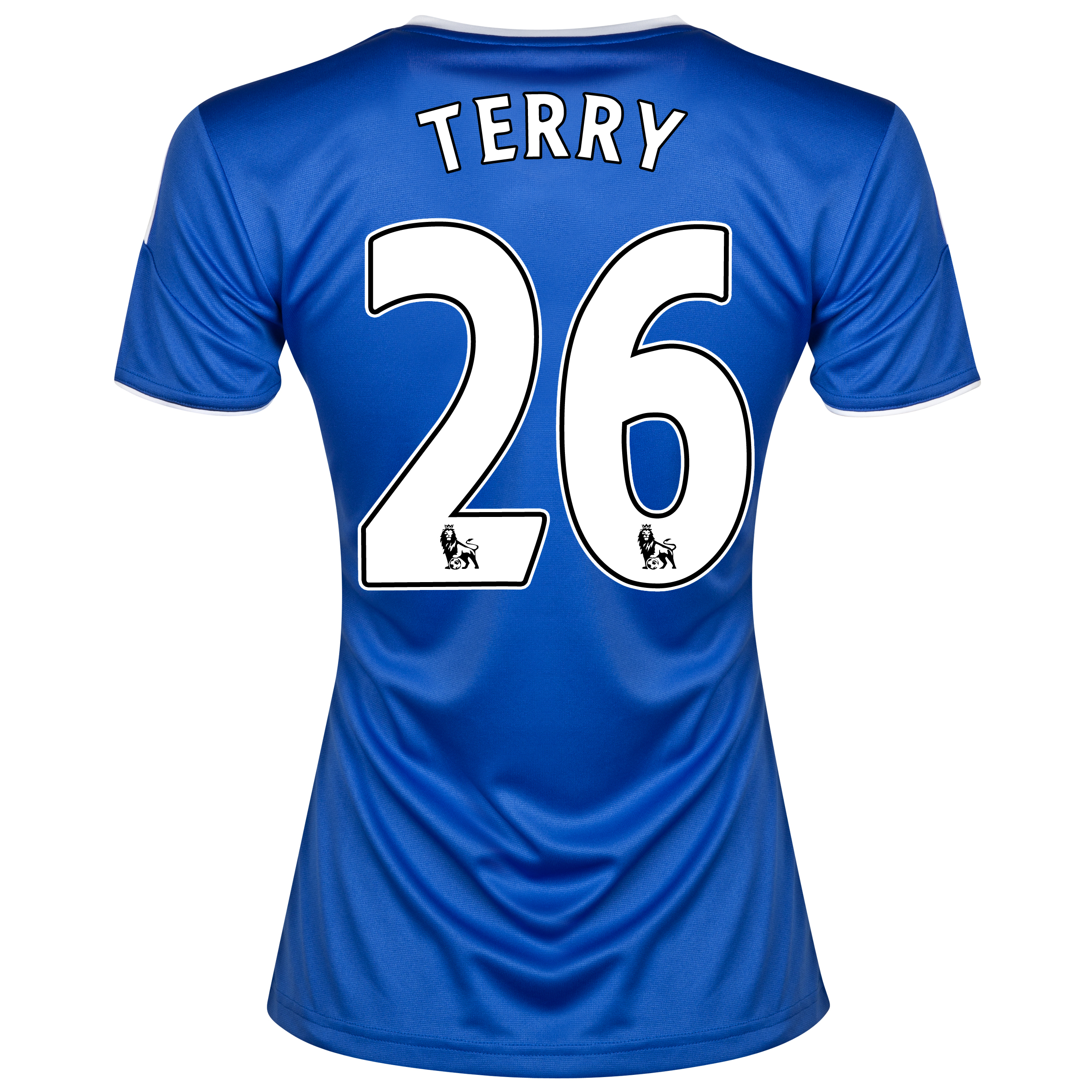 Chelsea Home Shirt 2013/14- Womens with Terry 26 printing