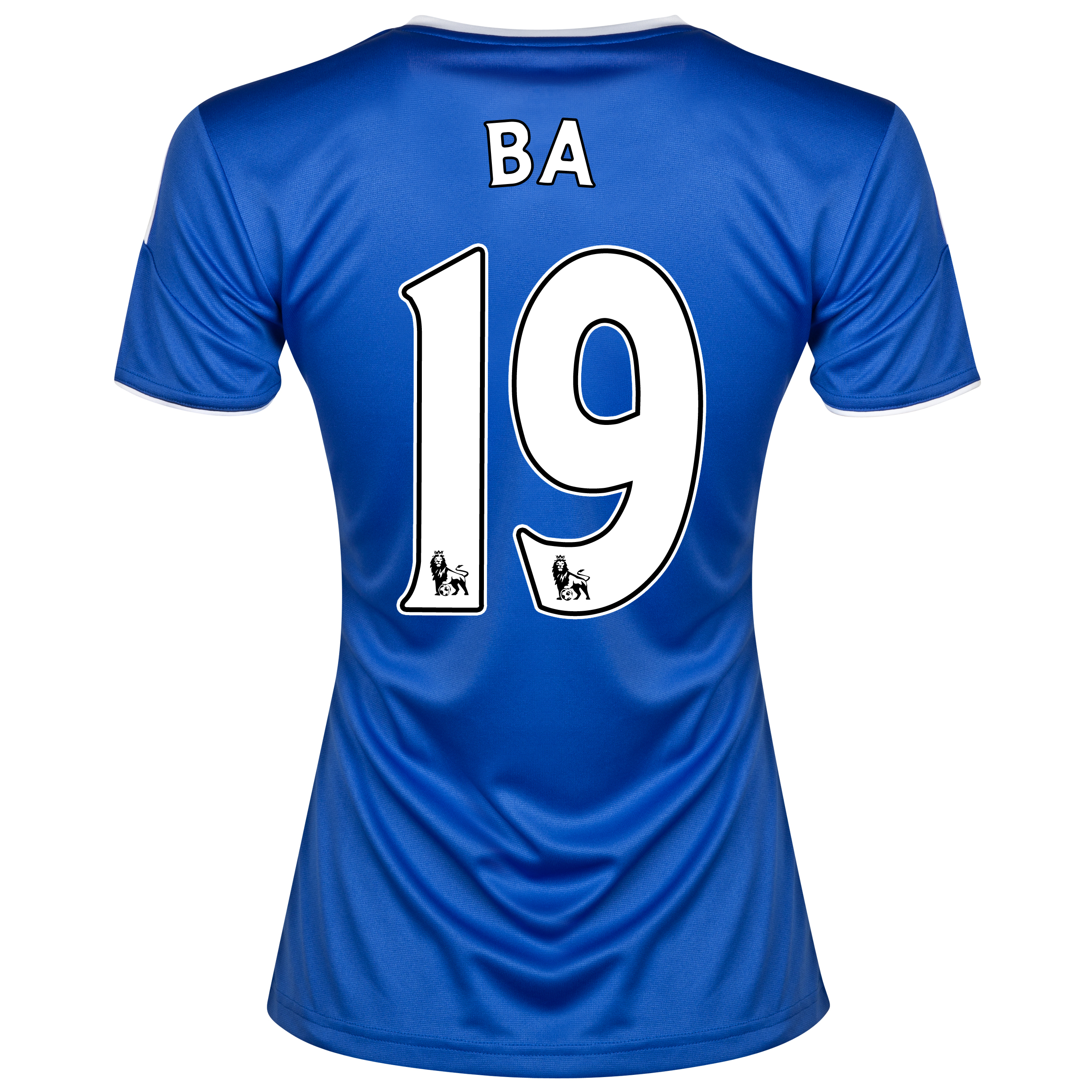 Chelsea Home Shirt 2013/14- Womens with Ba 19 printing