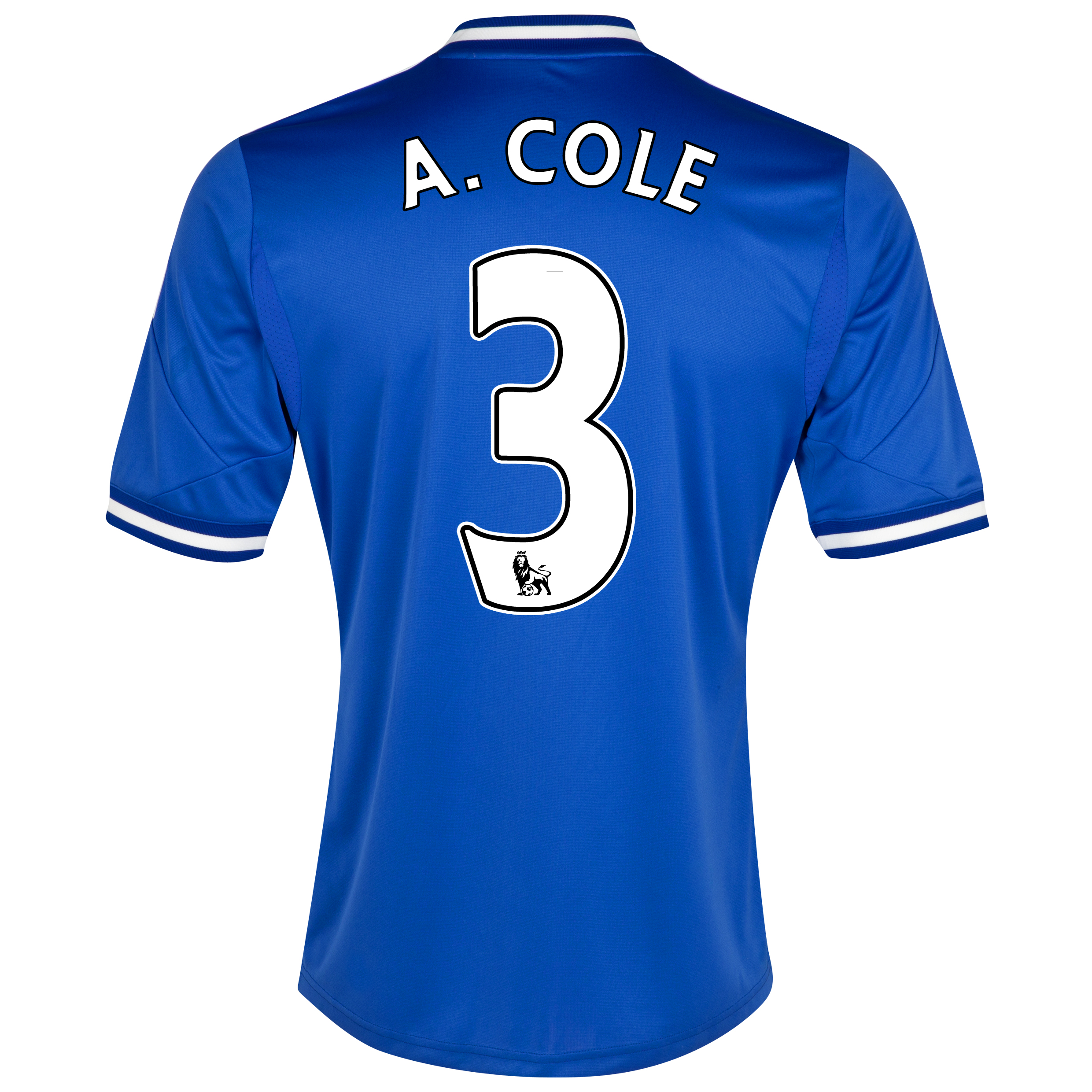Chelsea Home Shirt 2013/14 - Outsize with A.Cole 3 printing