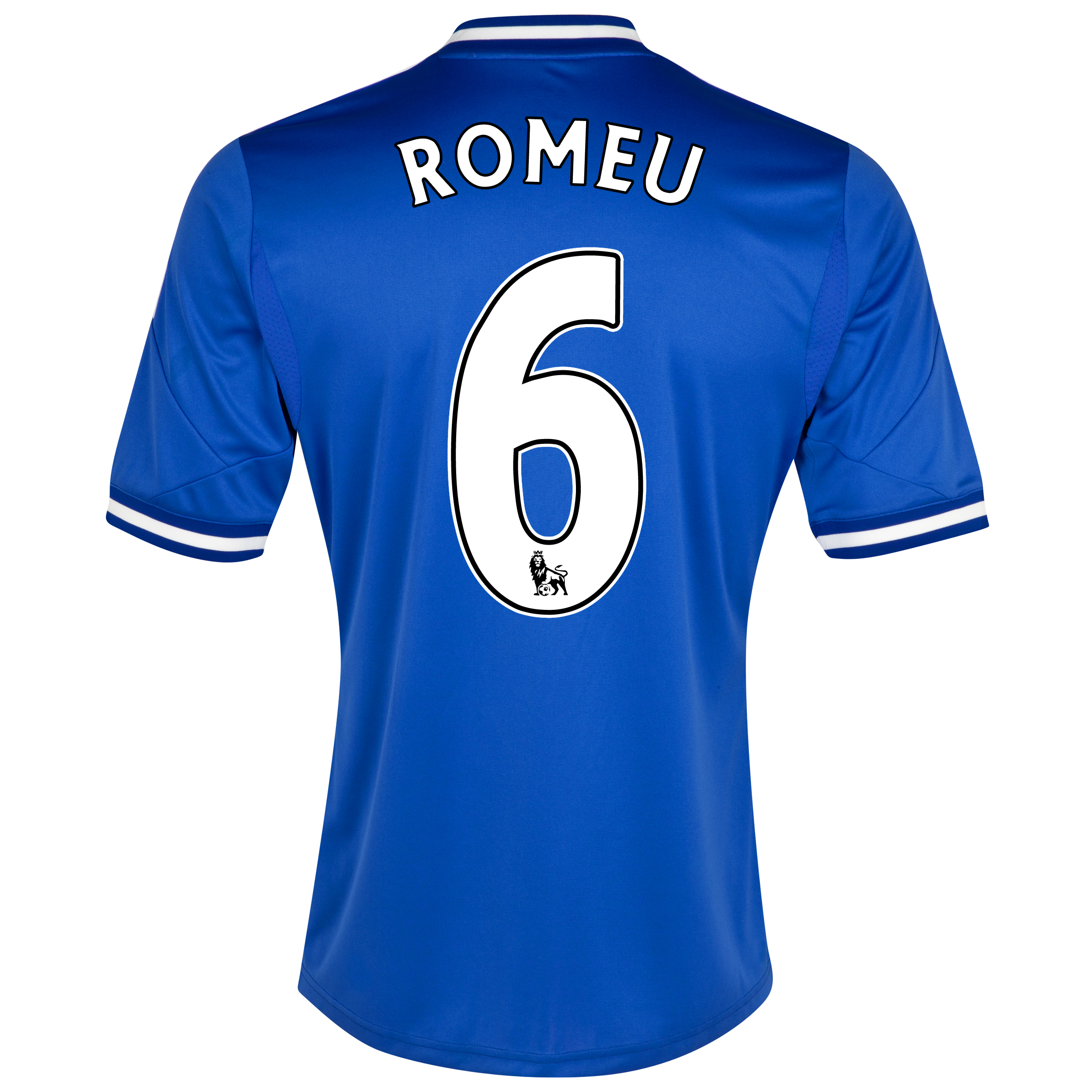 Chelsea Home Shirt 2013/14 - Outsize with Romeu 6 printing