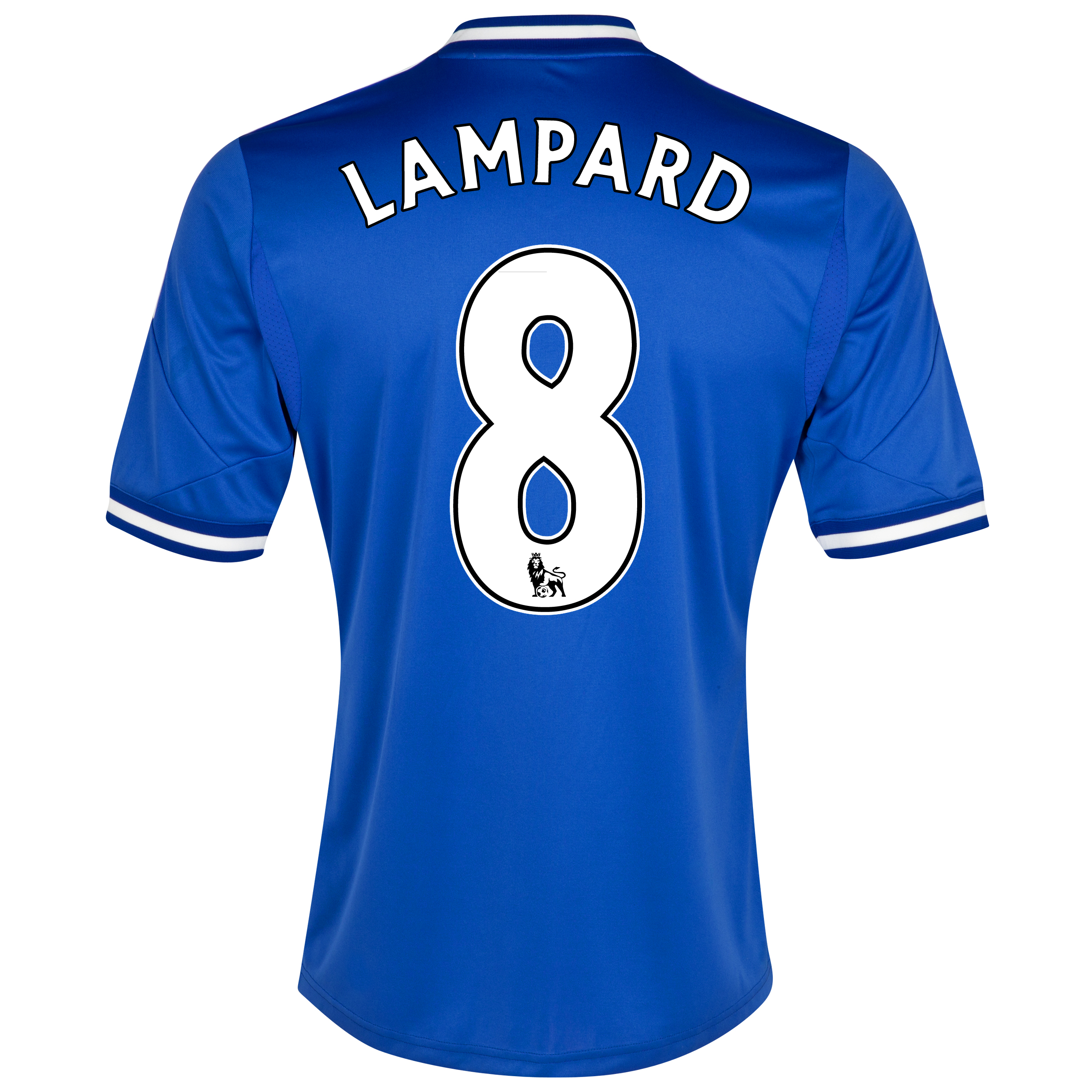 Chelsea Home Shirt 2013/14 - Outsize with Lampard 8 printing