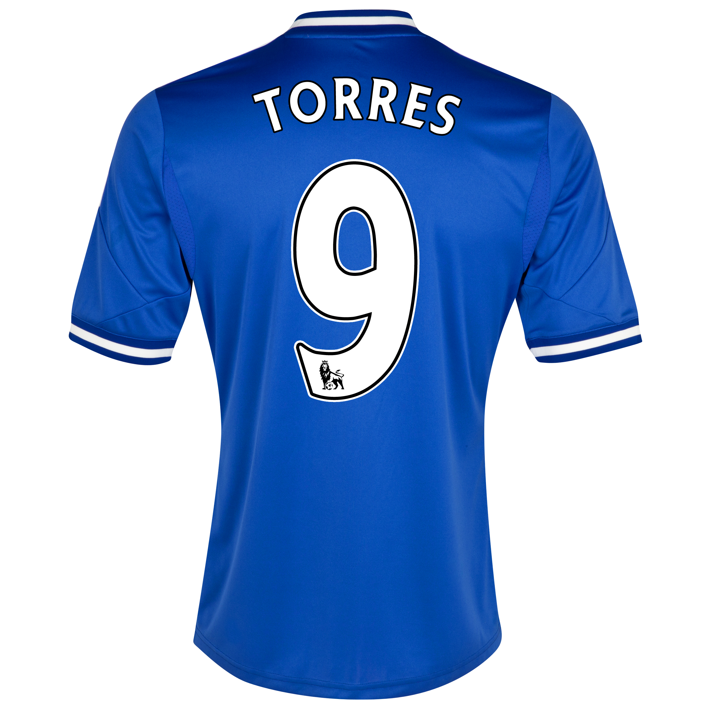 Chelsea Home Shirt 2013/14 - Outsize with Torres 9 printing