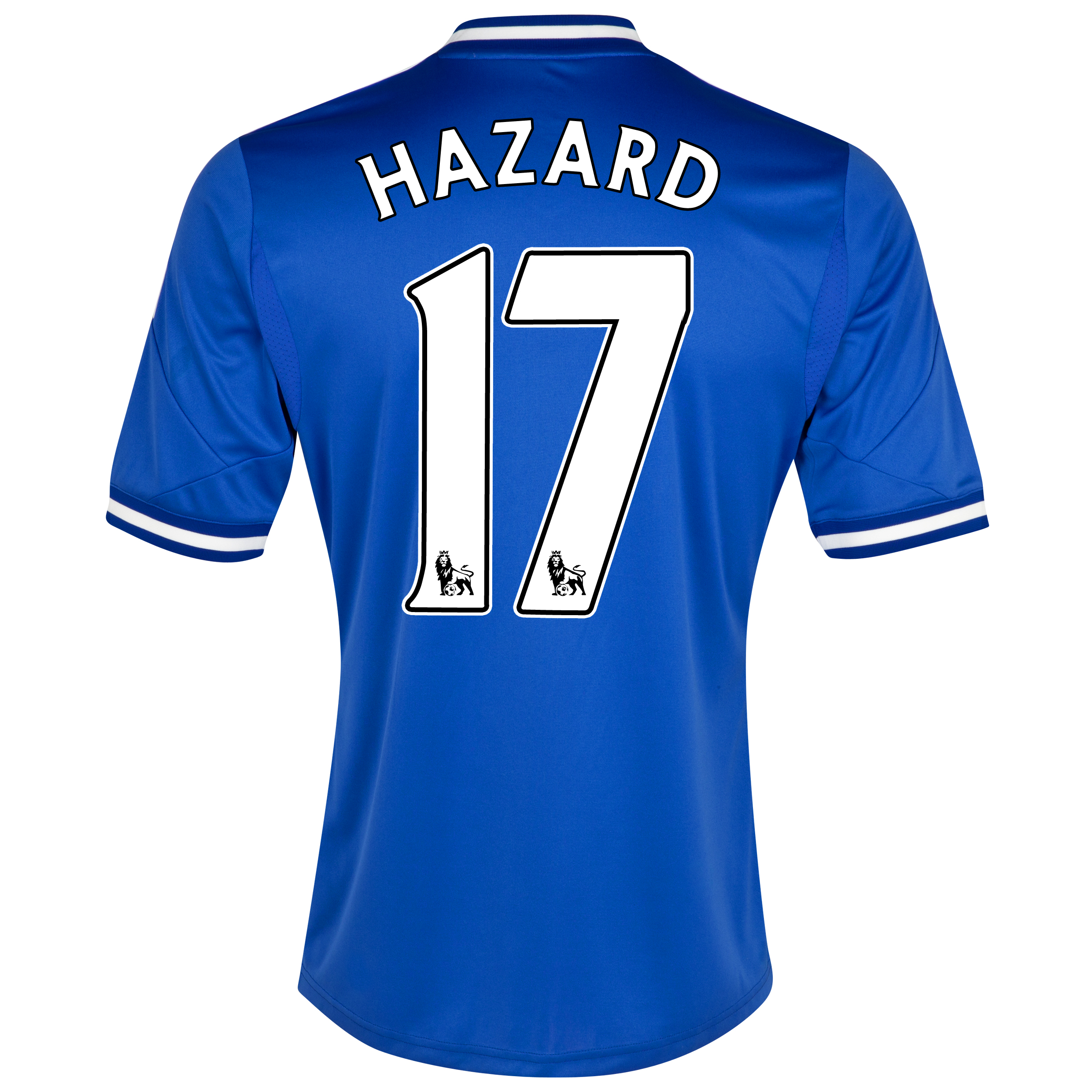 Chelsea Home Shirt 2013/14 - Outsize with Hazard 17 printing