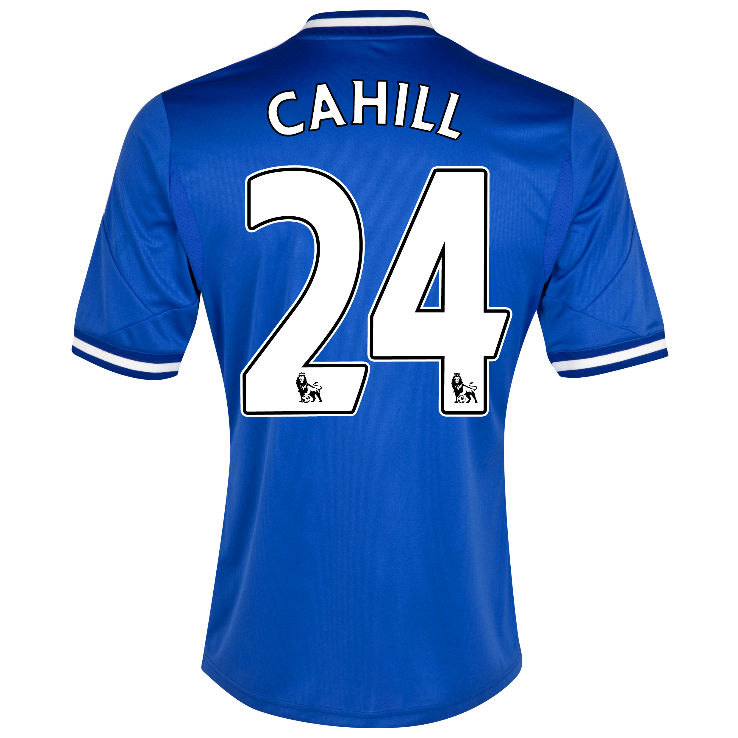 Chelsea Home Shirt 2013/14 - Outsize with Cahill 24 printing