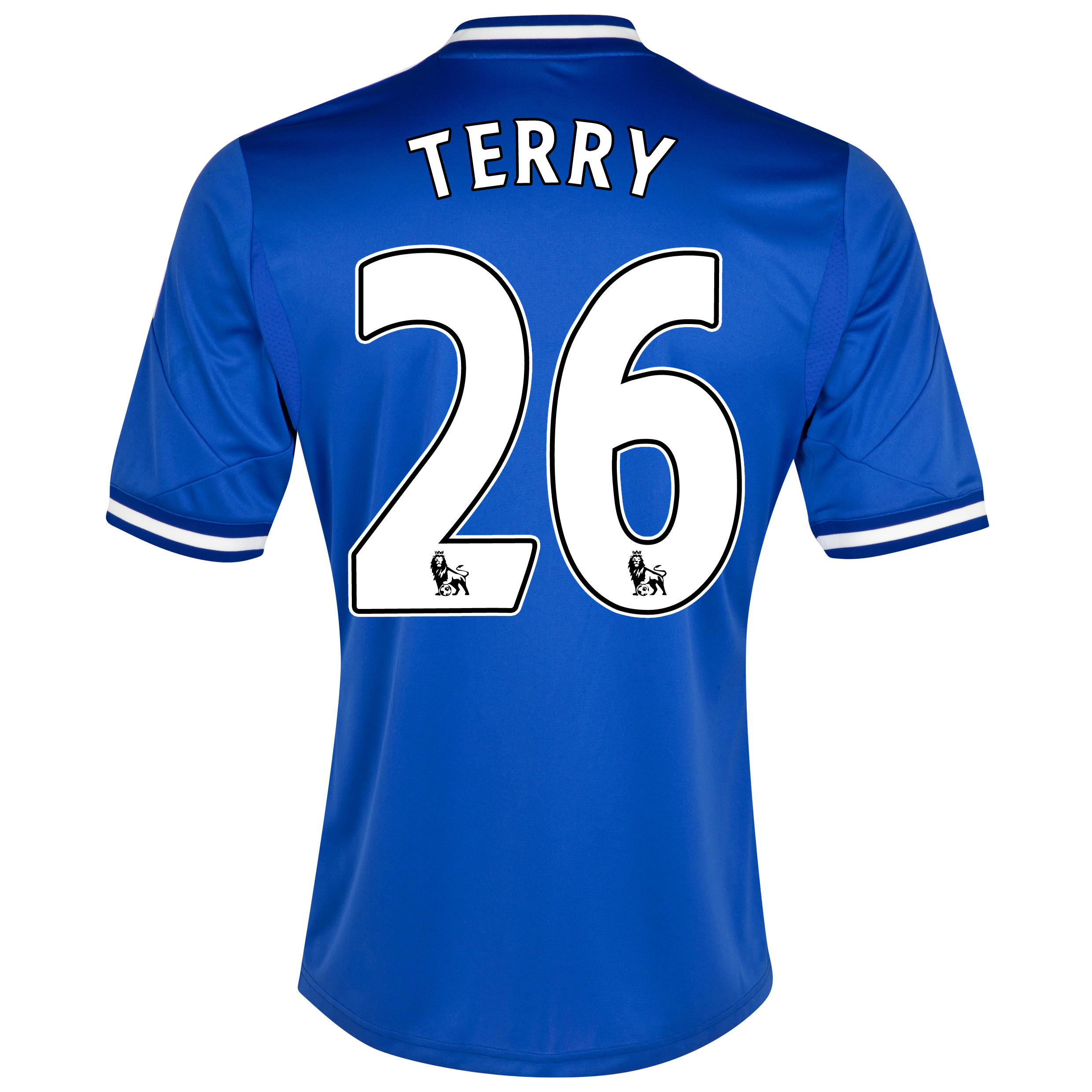 Chelsea Home Shirt 2013/14 - Outsize with Terry 26 printing