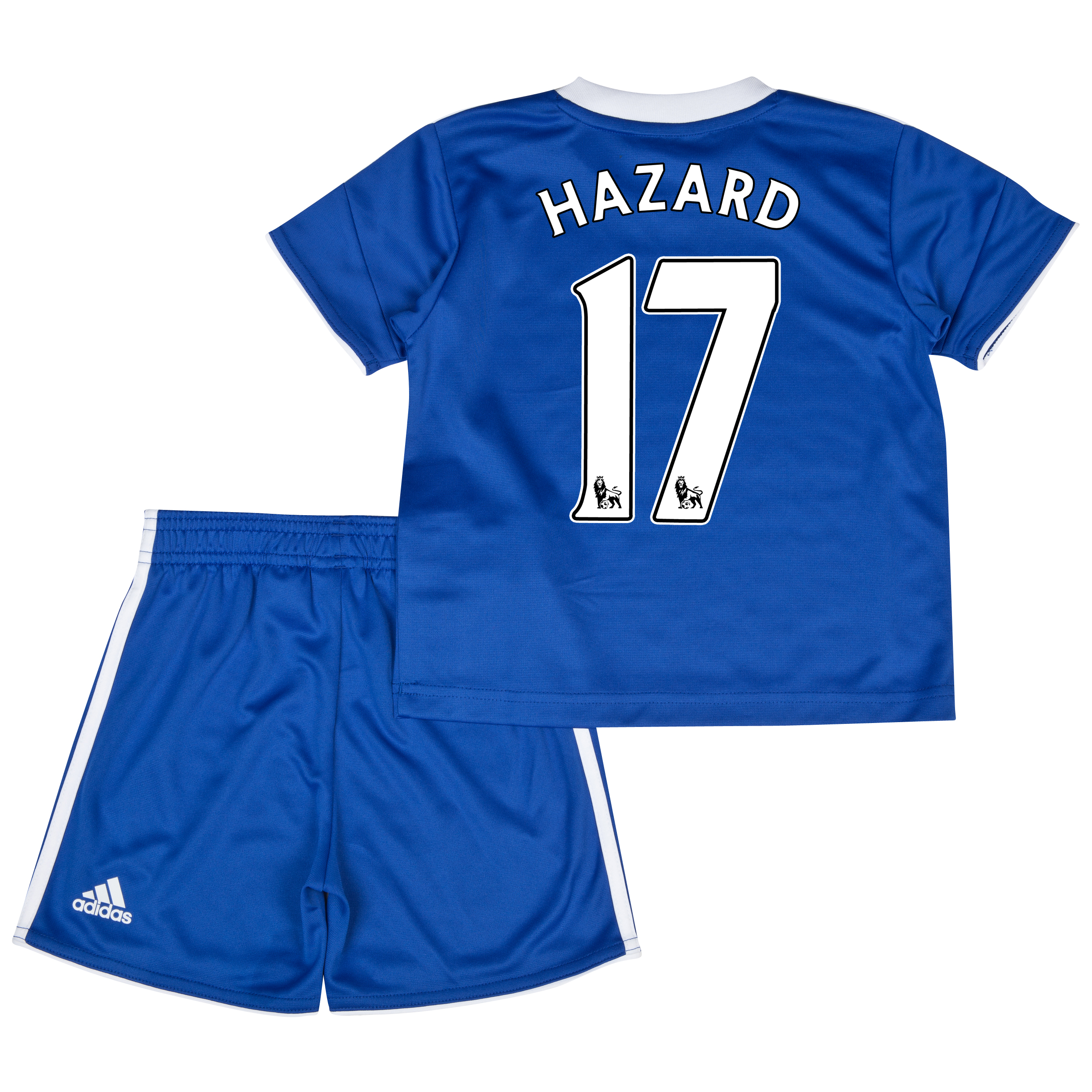 Chelsea Home Mini Kit 2013/14 with Hazard 17 printing