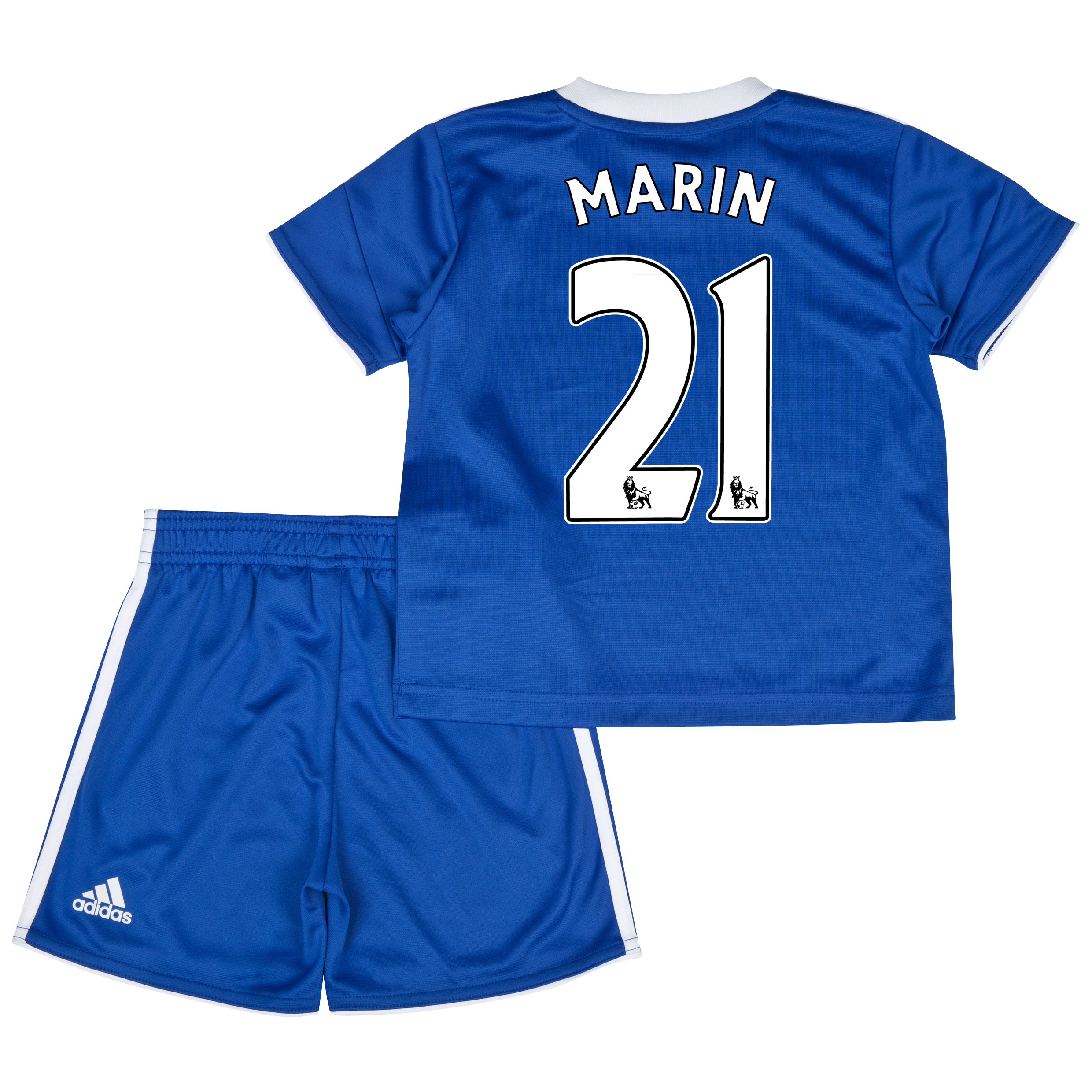 Chelsea Home Mini Kit 2013/14 with Marin 21 printing