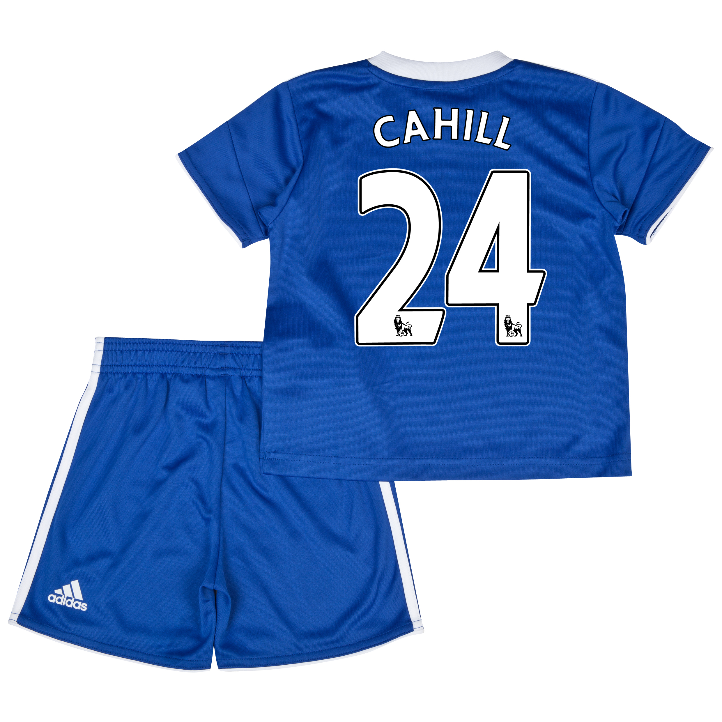 Chelsea Home Mini Kit 2013/14 with Cahill 24 printing