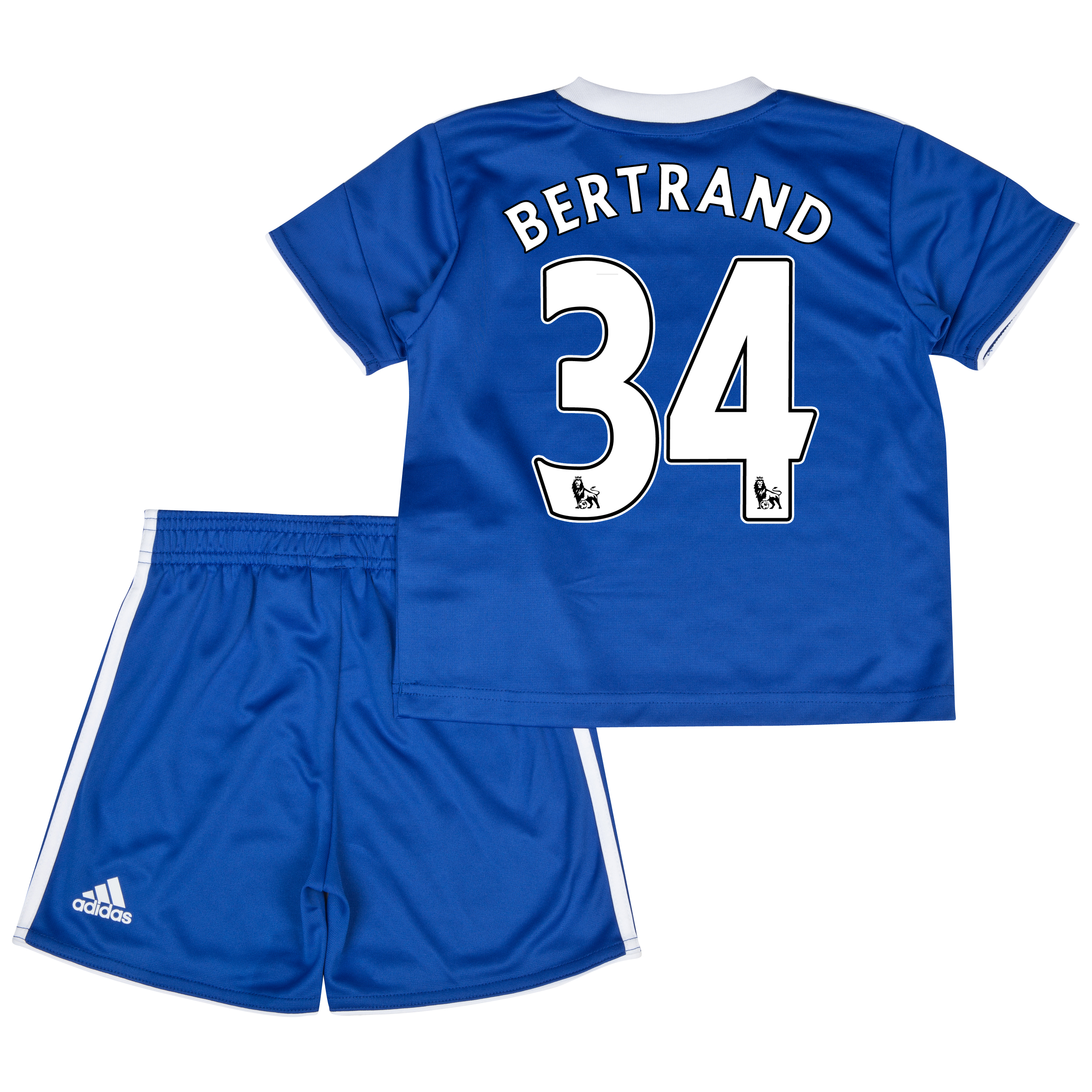 Chelsea Home Mini Kit 2013/14 with Bertrand 34 printing