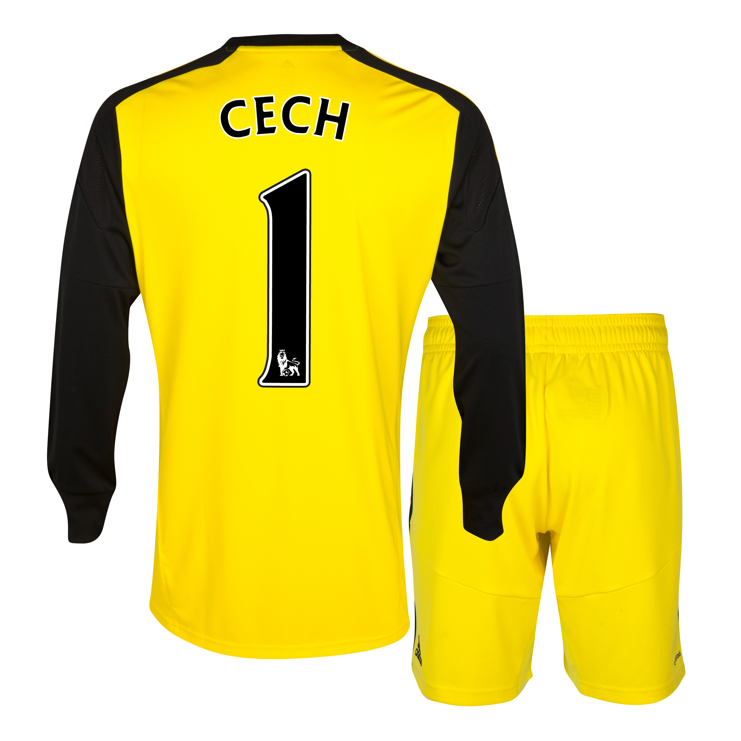 Chelsea Home Goalkeeper Mini Kit 2013/14 with Cech 1 printing