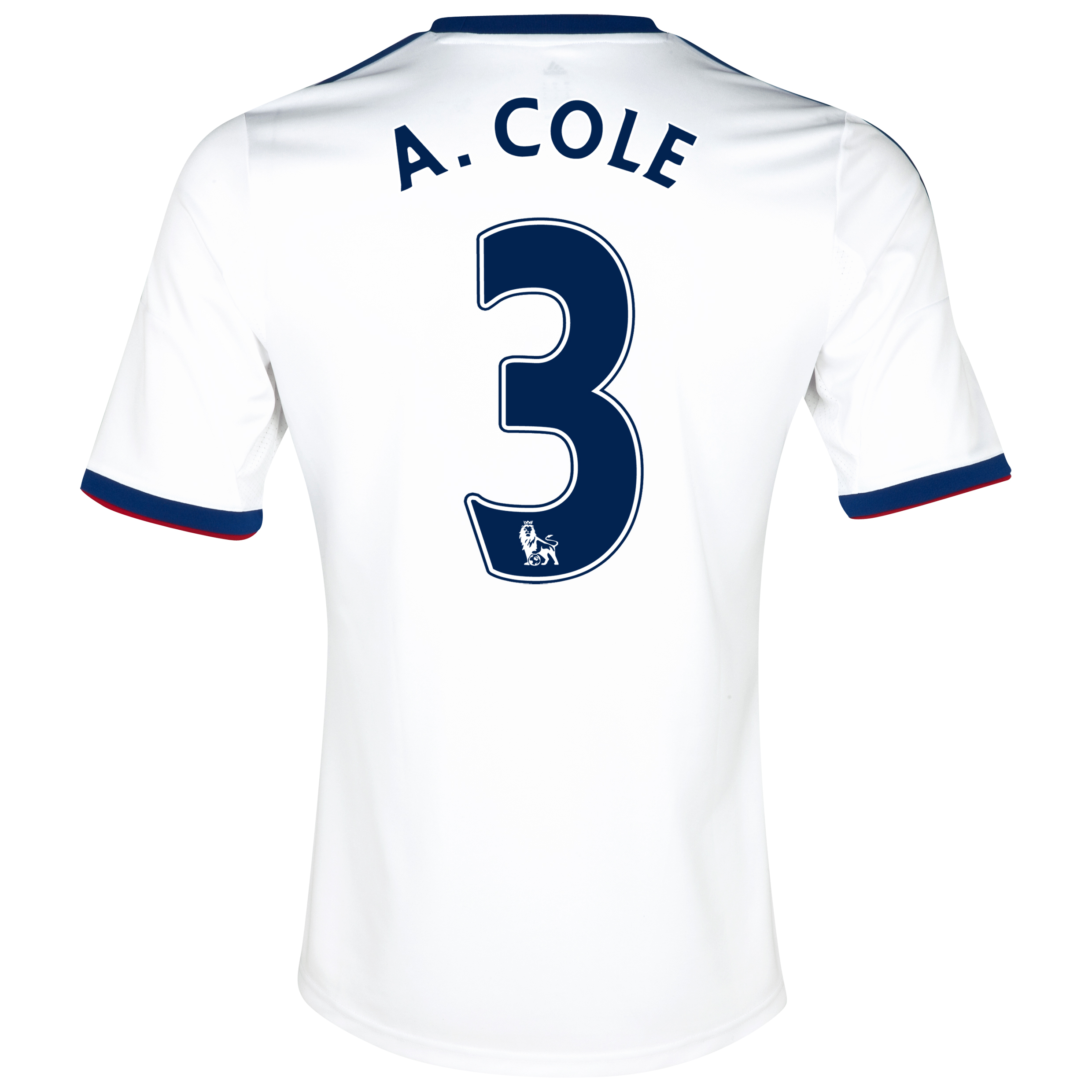 Chelsea Away Shirt 2013/14 with A.Cole 3 printing