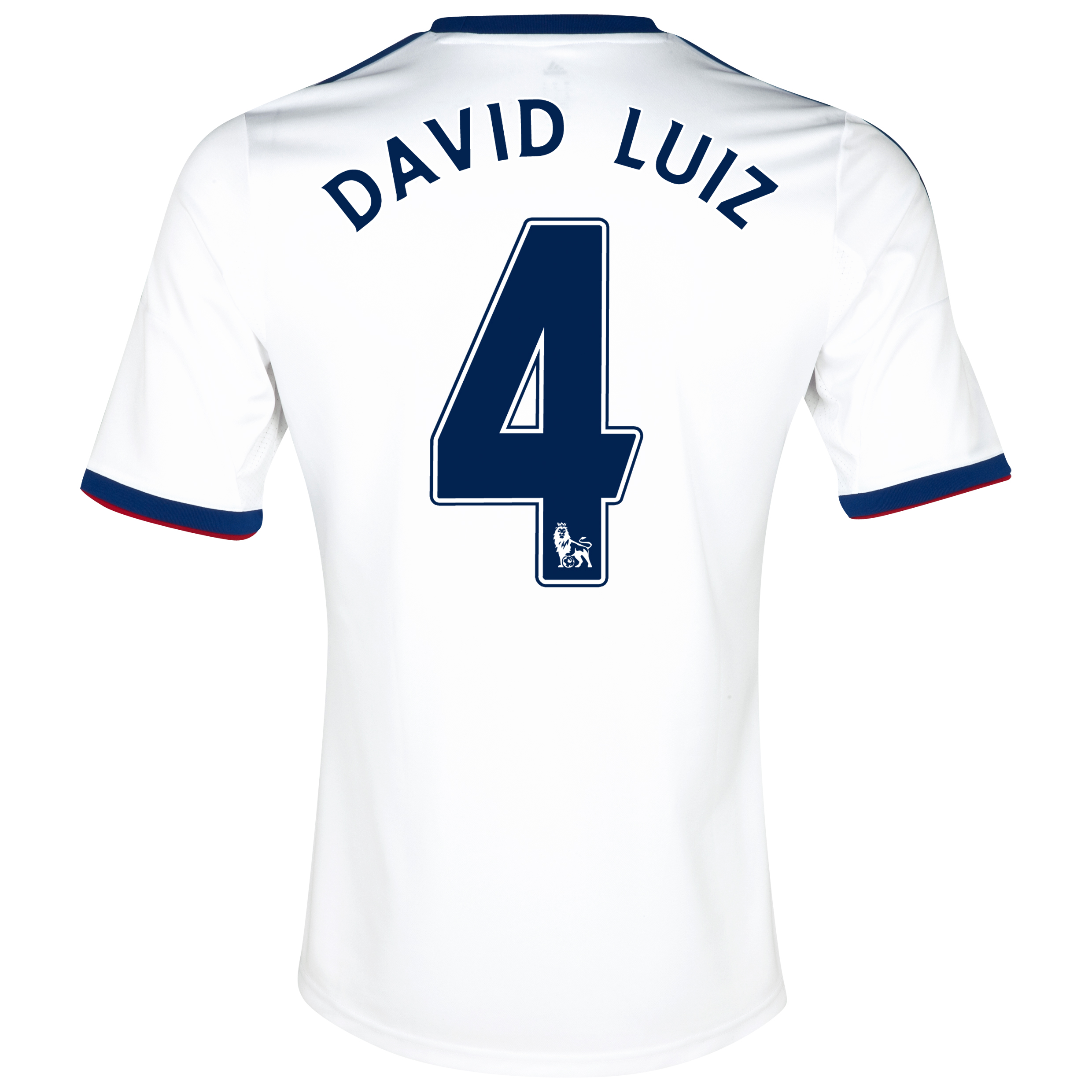 Chelsea Away Shirt 2013/14 with David Luiz 4 printing