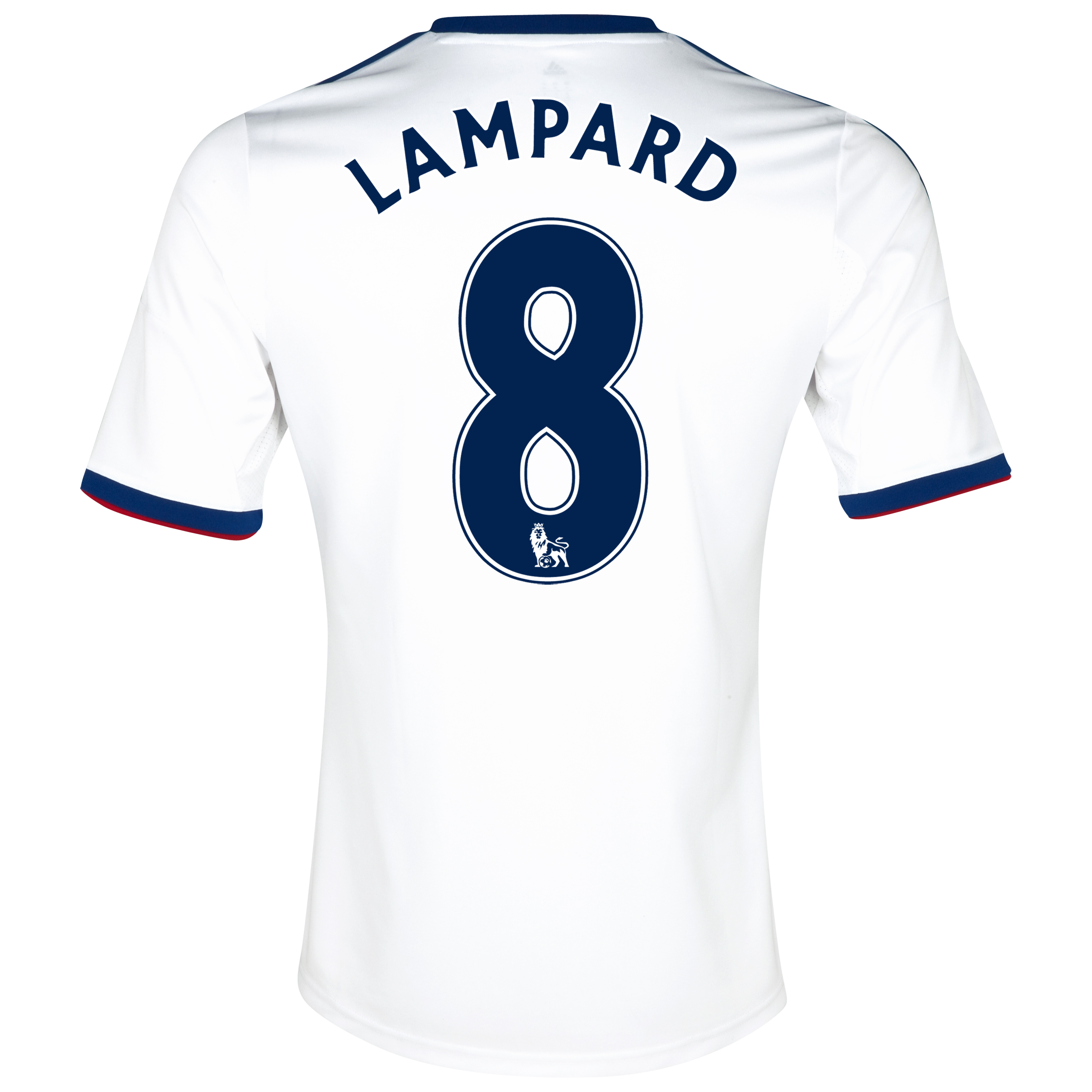Chelsea Away Shirt 2013/14 with Lampard 8 printing