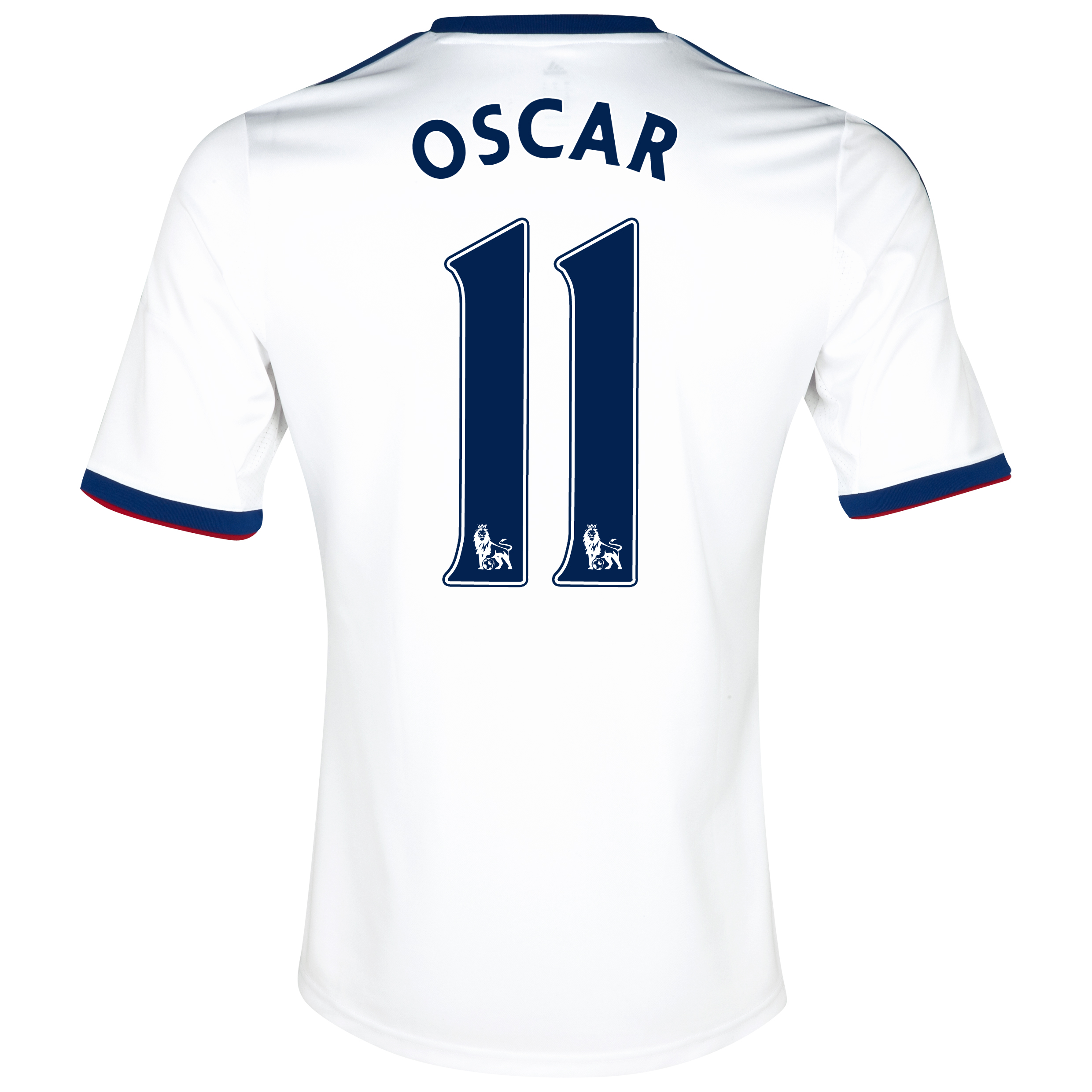 Chelsea Away Shirt 2013/14 with Oscar 11 printing