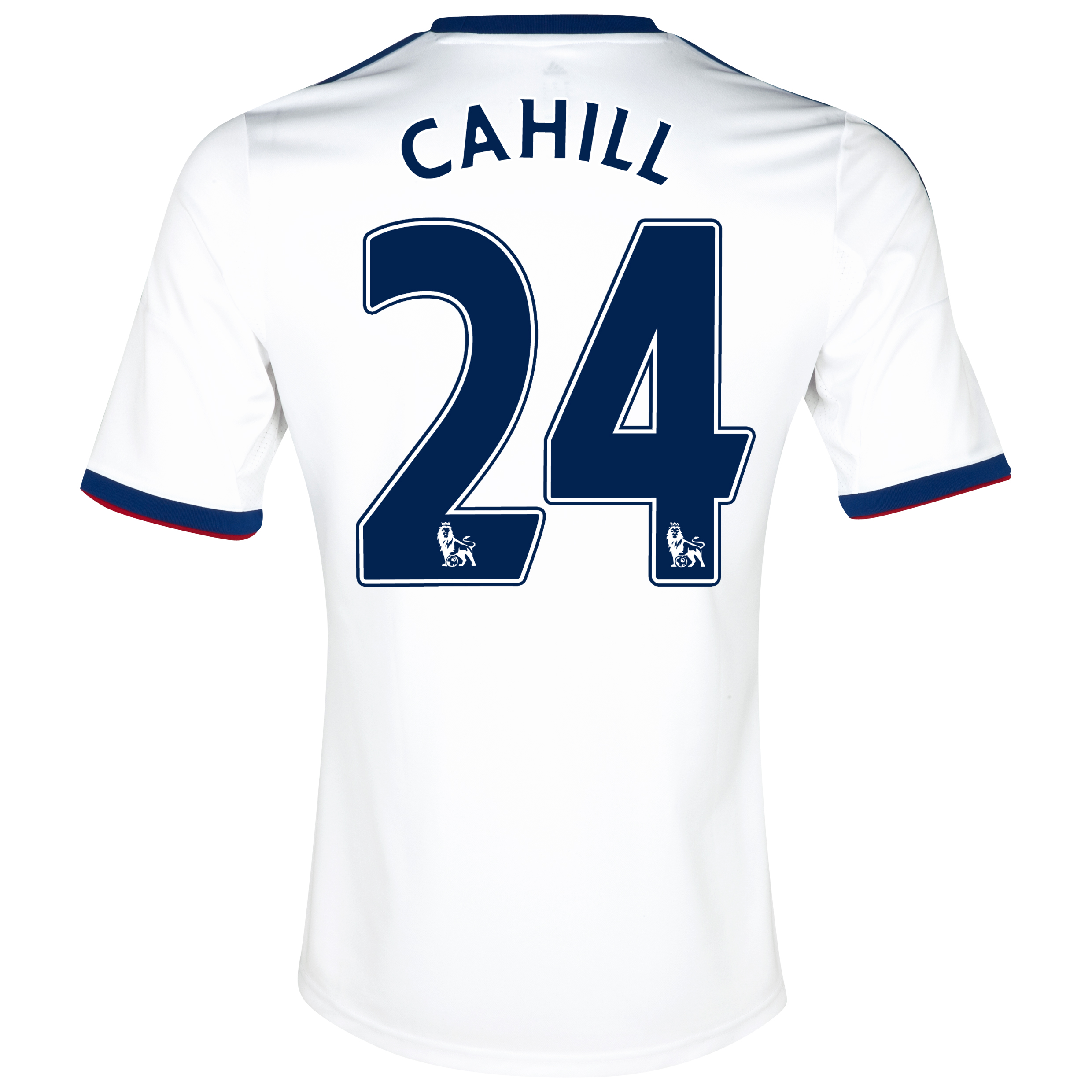 Chelsea Away Shirt 2013/14 with Cahill 24 printing