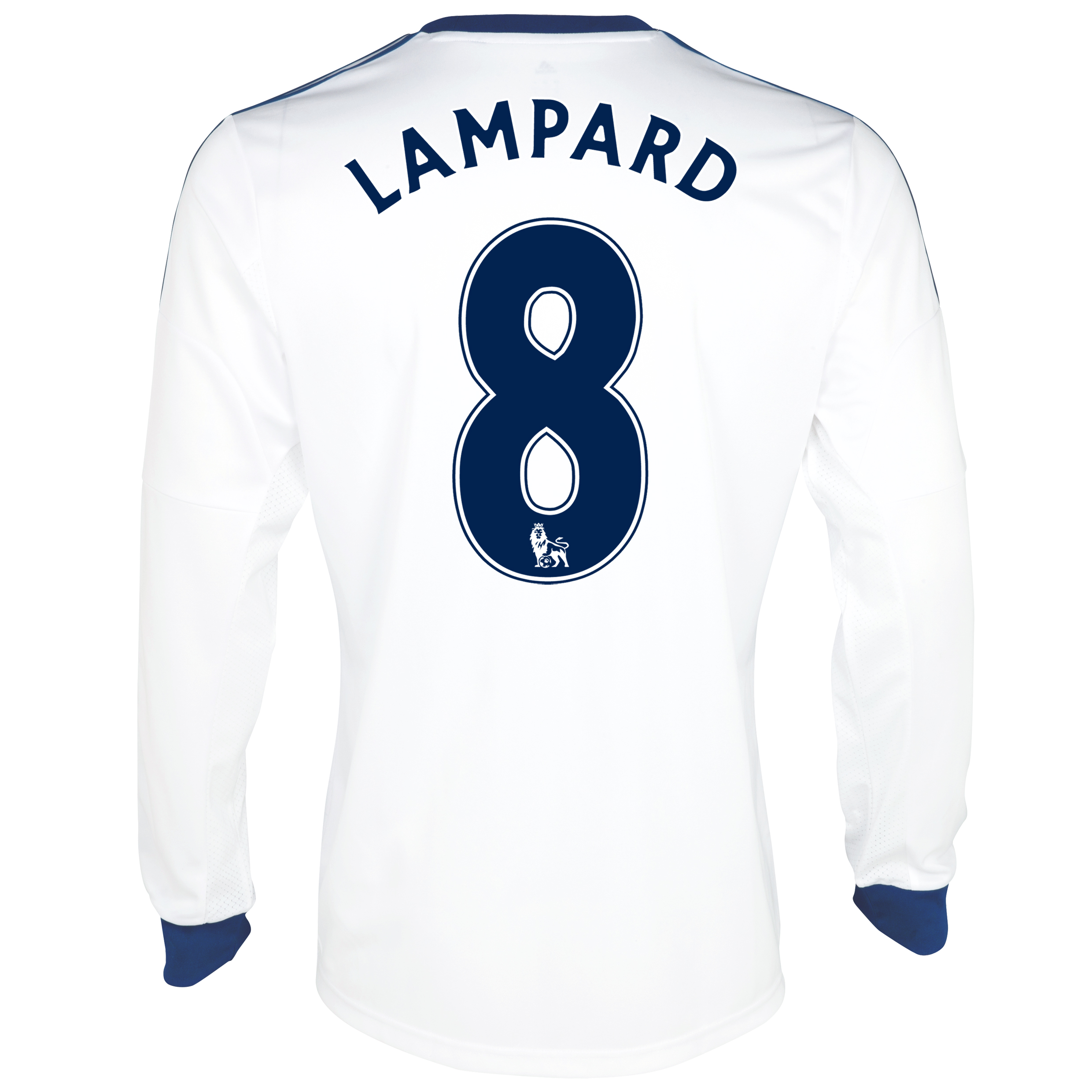 Chelsea Away Shirt 2013/14- Long Sleeve with Lampard 8 printing