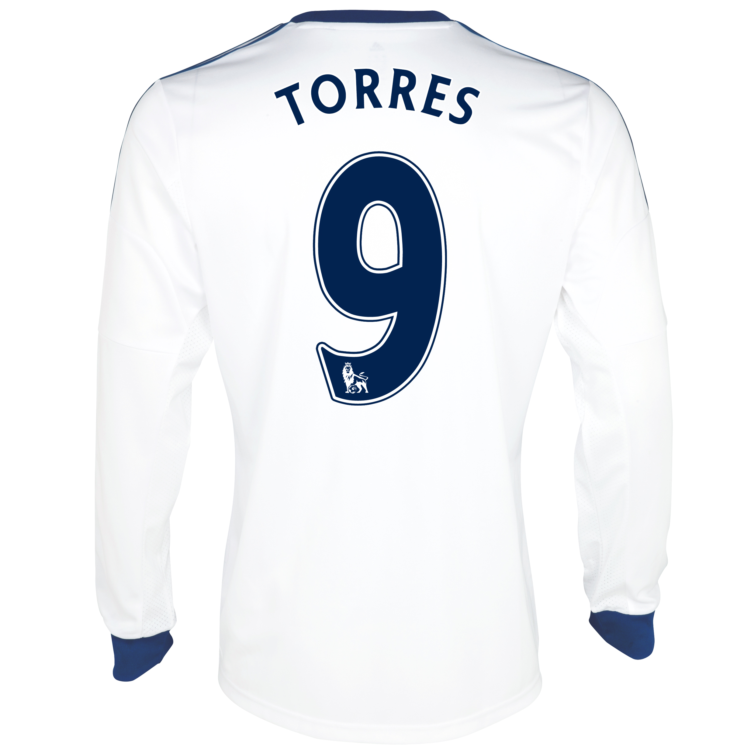 Chelsea Away Shirt 2013/14- Long Sleeve with Torres 9 printing