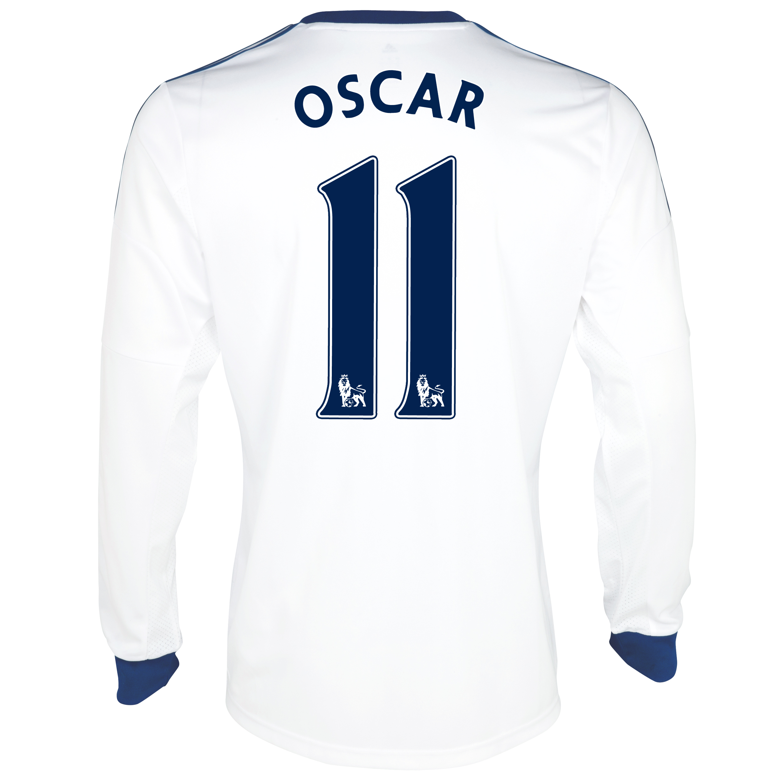 Chelsea Away Shirt 2013/14- Long Sleeve with Oscar 11 printing