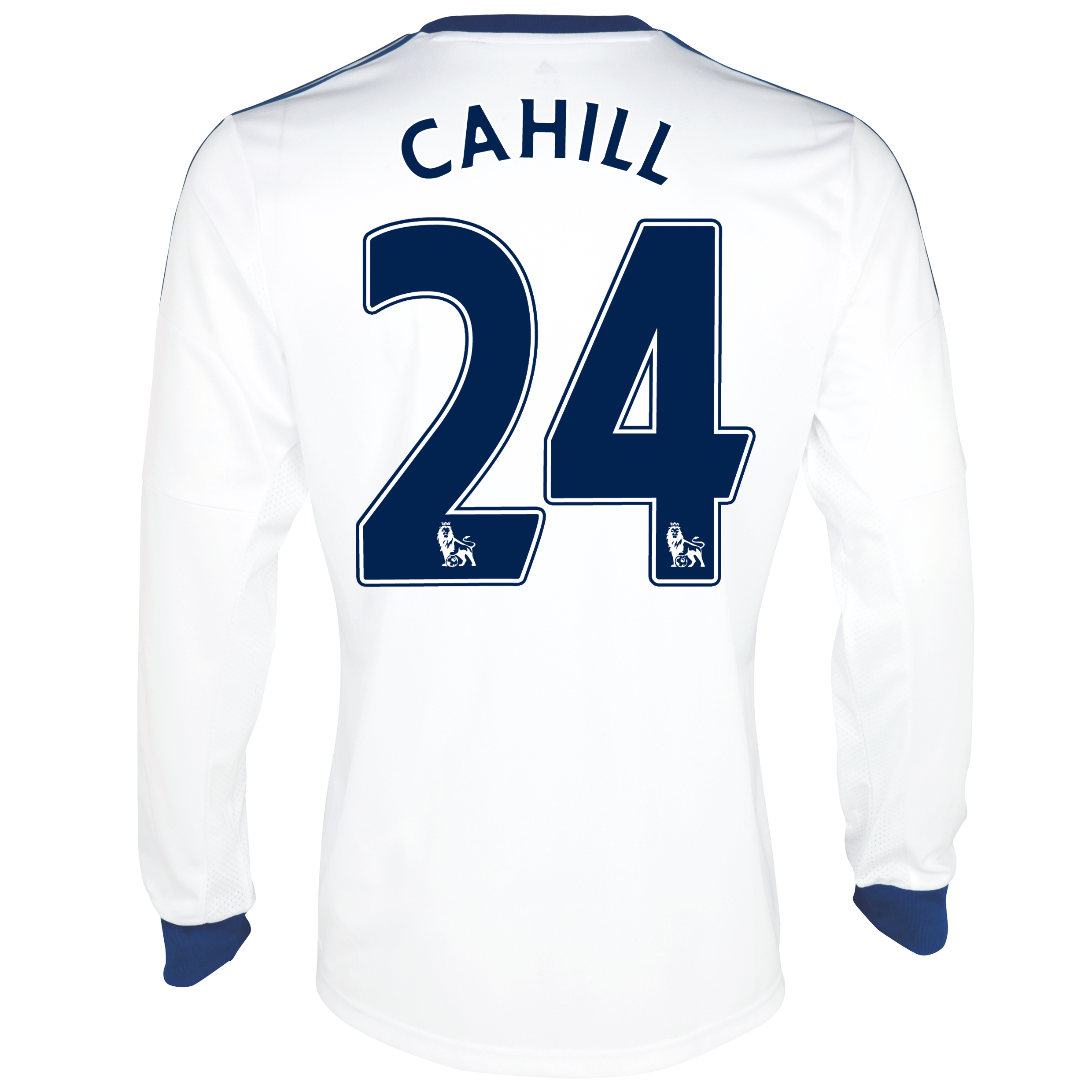 Chelsea Away Shirt 2013/14- Long Sleeve with Cahill 24 printing