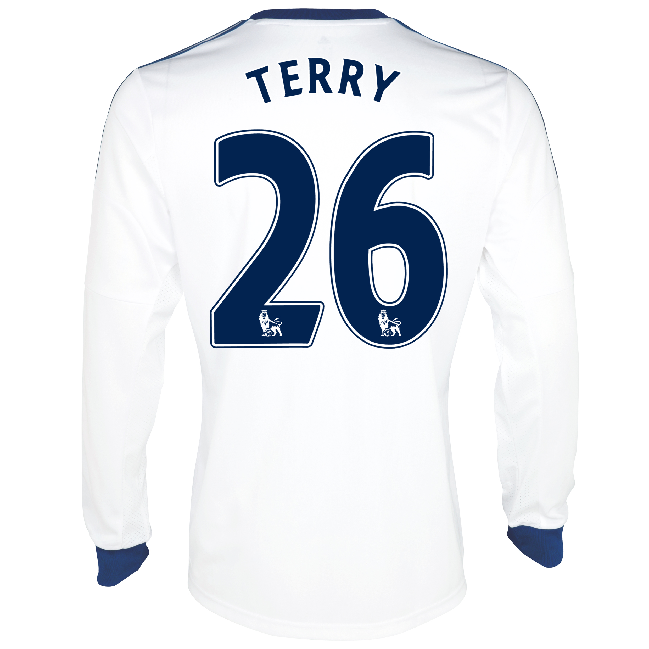 Chelsea Away Shirt 2013/14- Long Sleeve with Terry 26 printing