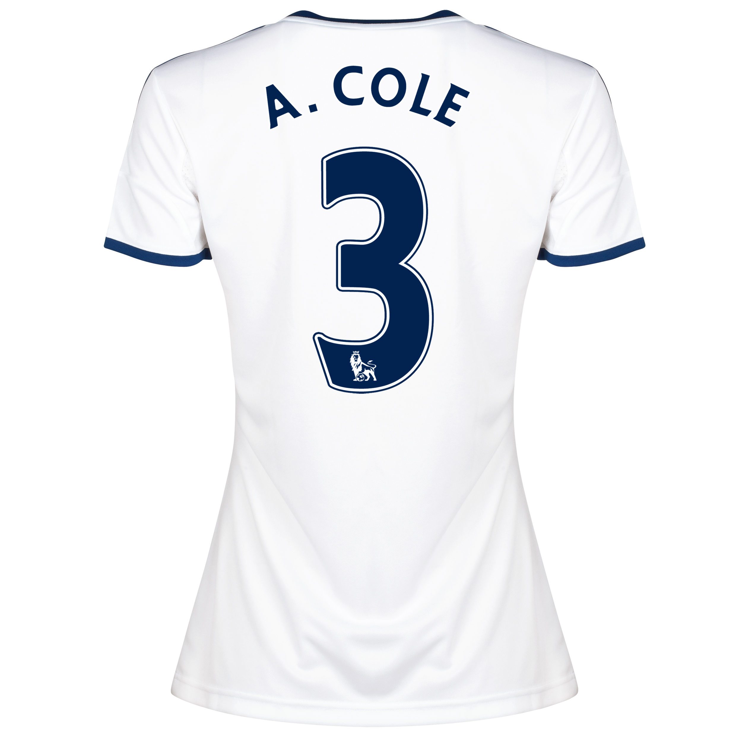 Chelsea Away Shirt 2013/14 -Womens with A.Cole 3 printing