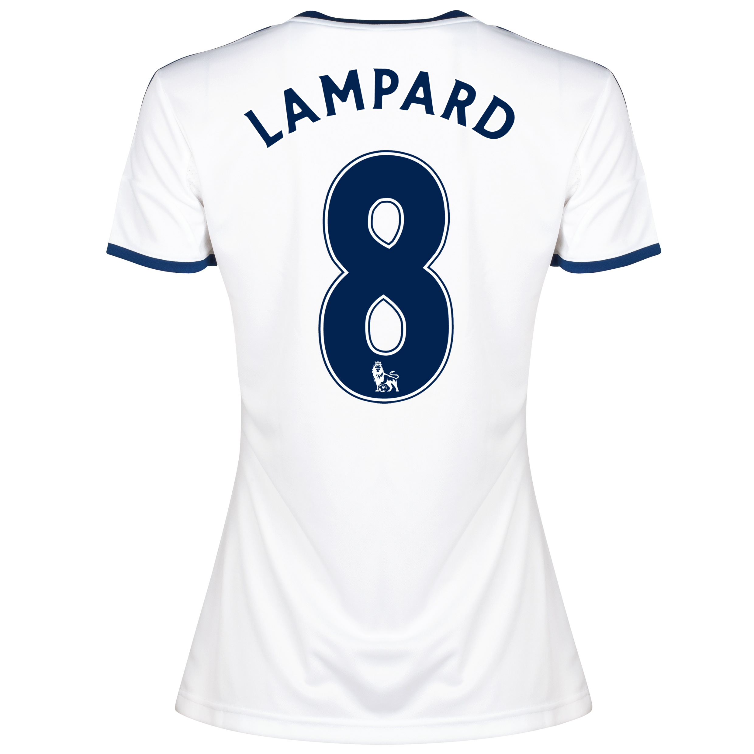 Chelsea Away Shirt 2013/14 -Womens with Lampard 8 printing