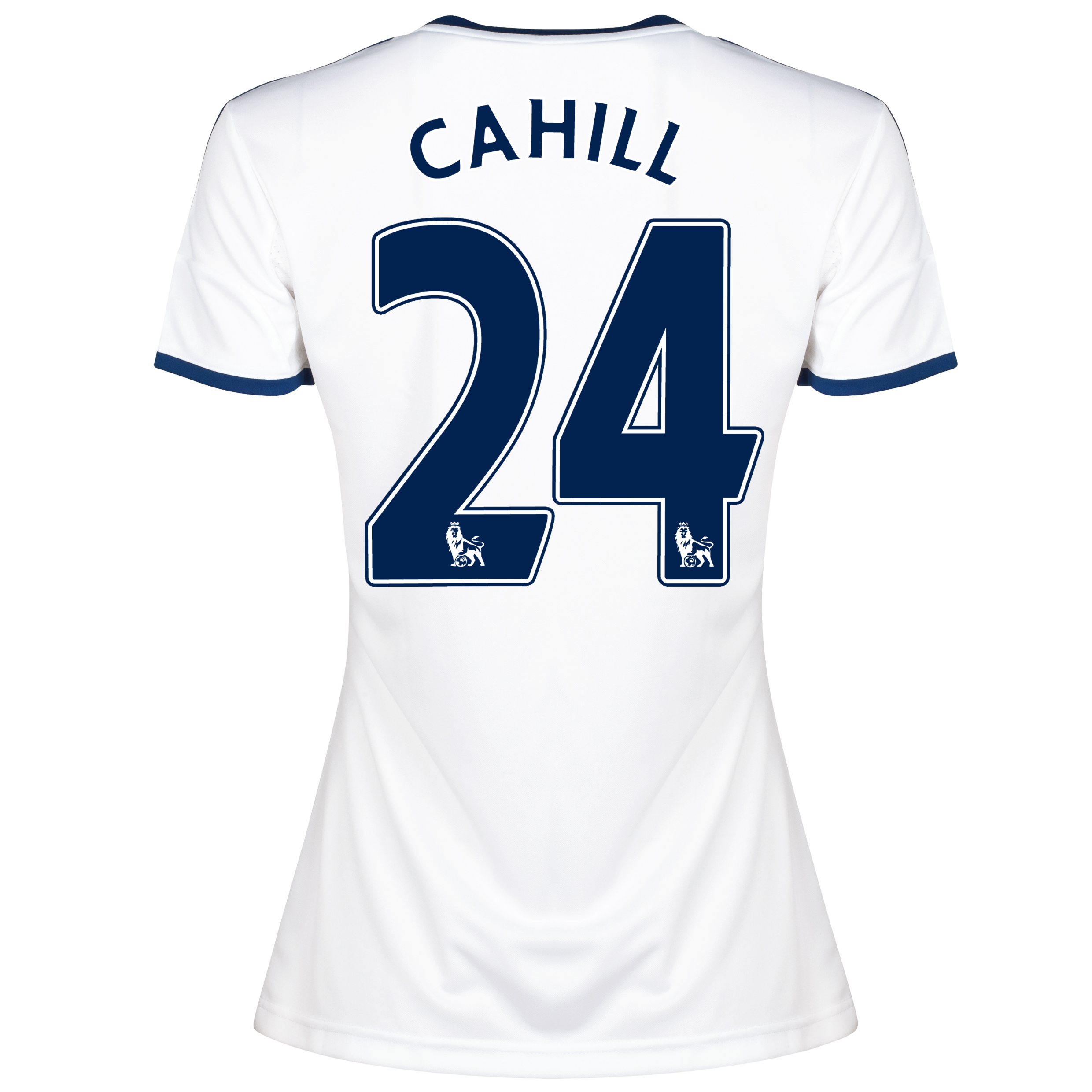 Chelsea Away Shirt 2013/14 -Womens with Cahill 24 printing