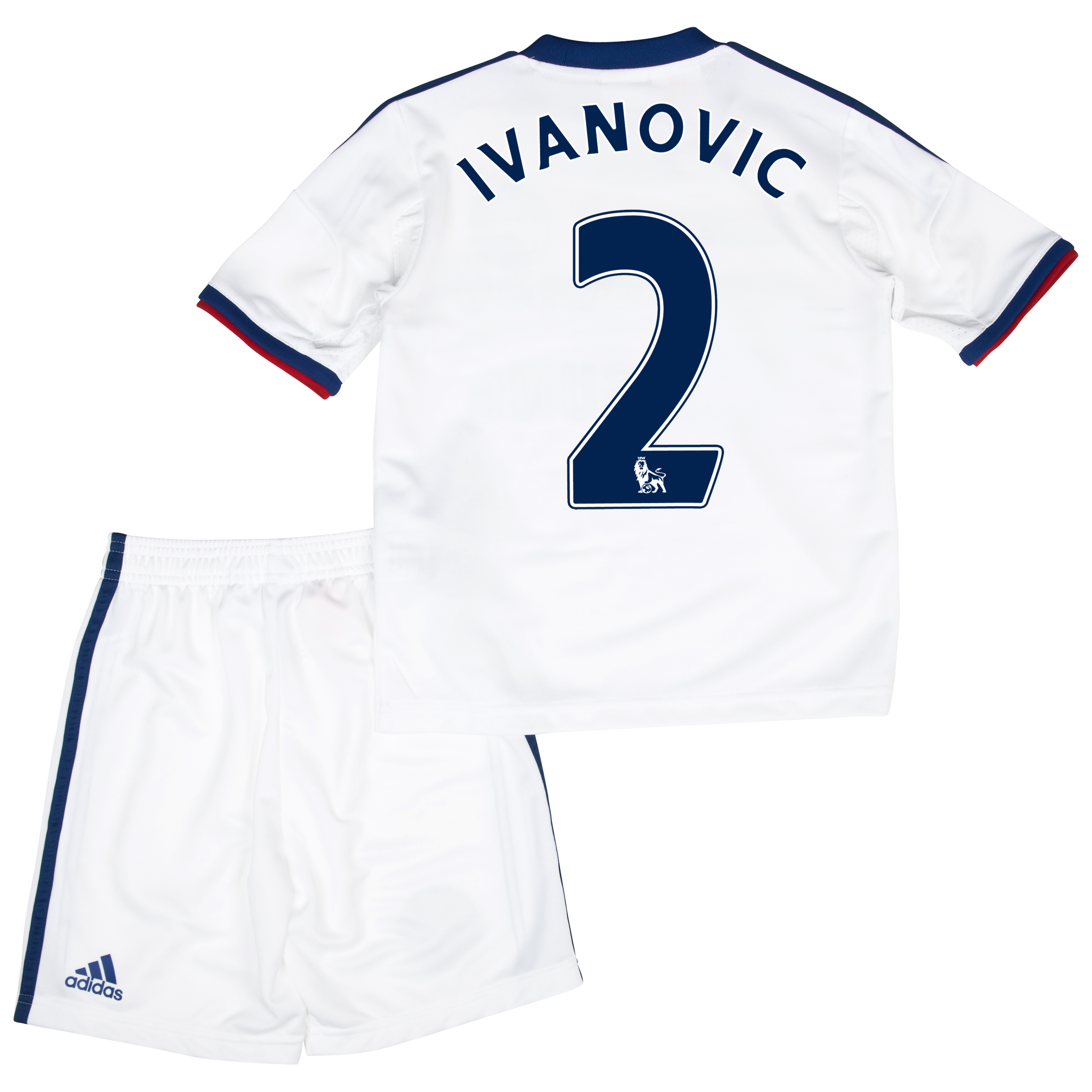 Chelsea Away Mini Kit 2013/14 with Ivanovic 2 printing
