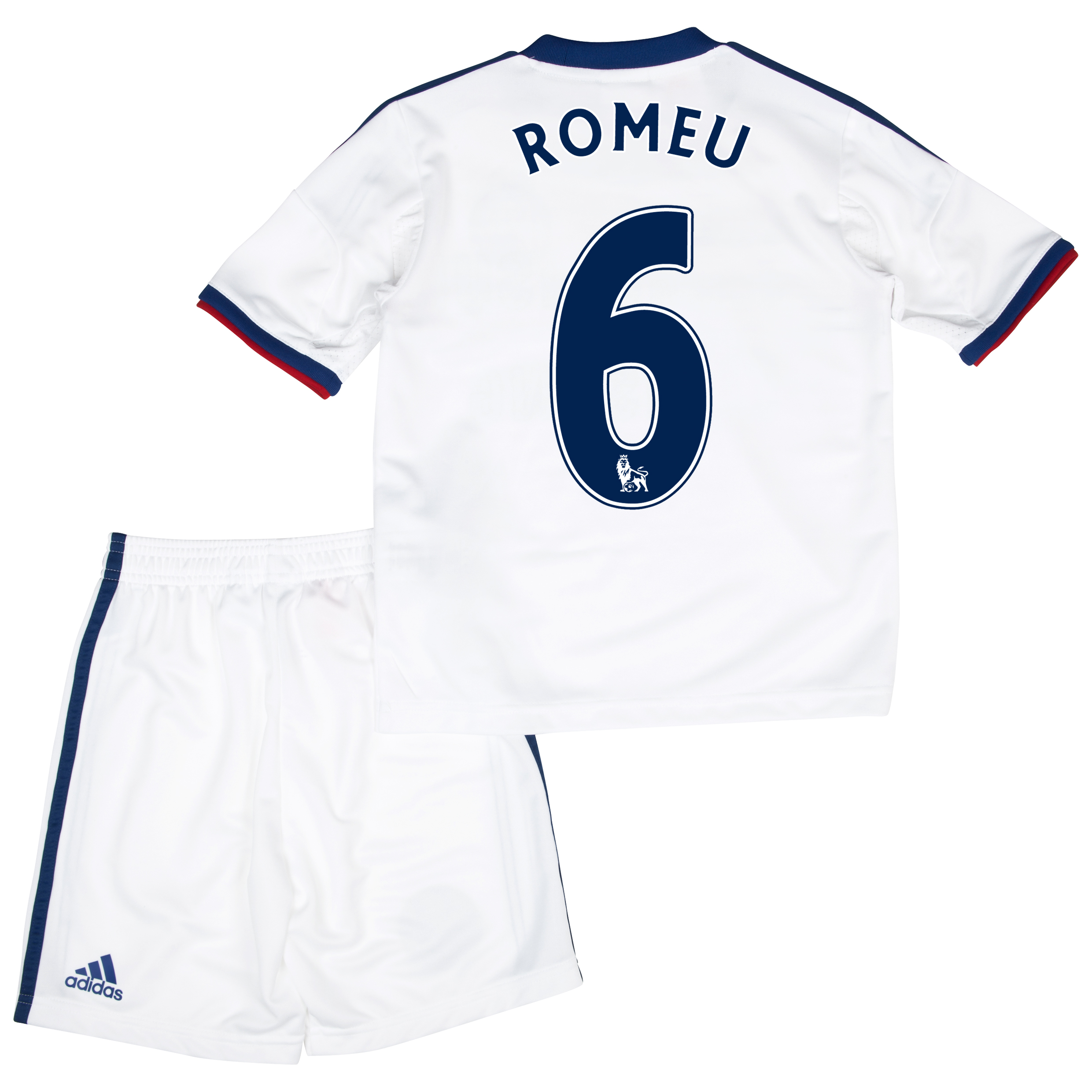 Chelsea Away Mini Kit 2013/14 with Romeu 6 printing