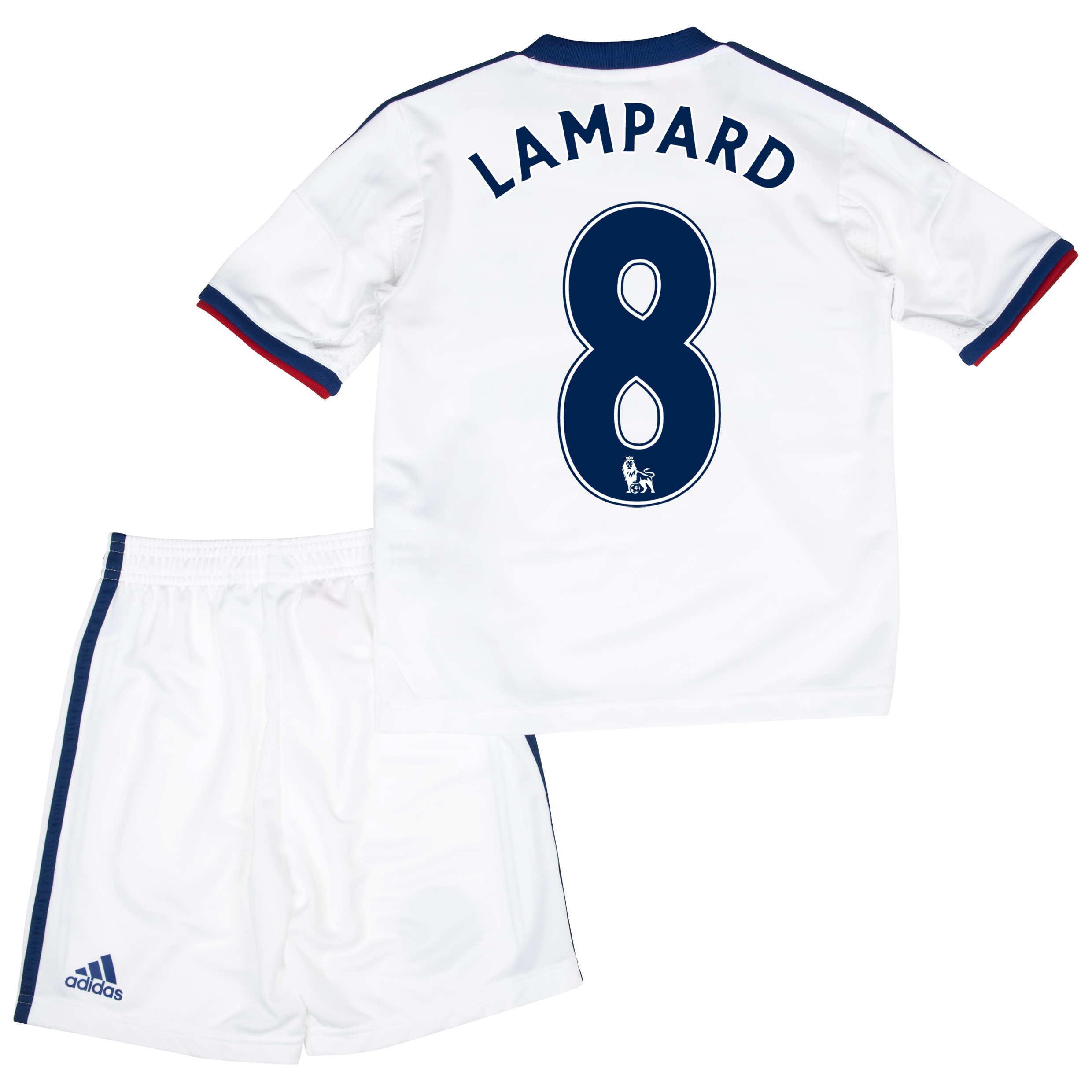 Chelsea Away Mini Kit 2013/14 with Lampard 8 printing