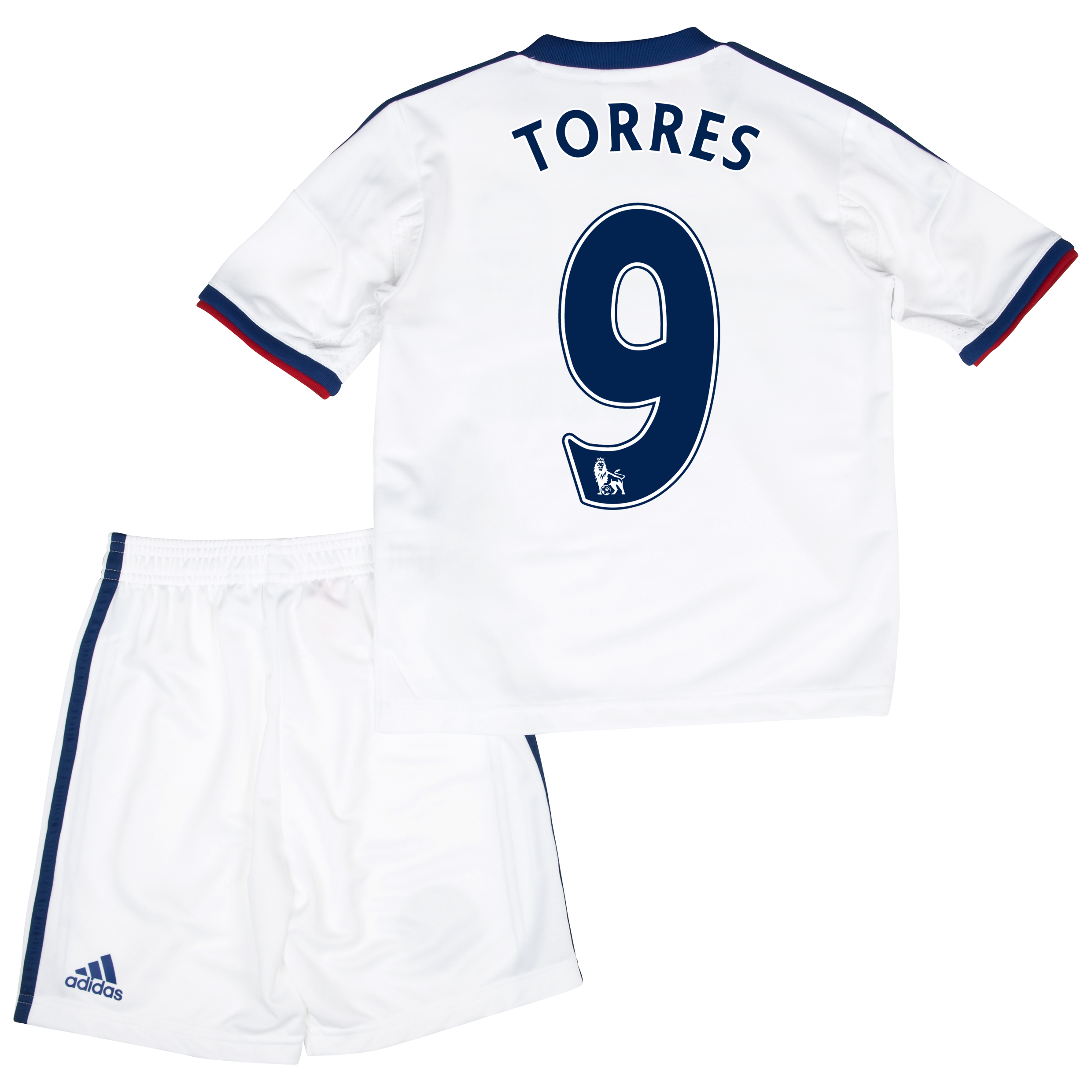 Chelsea Away Mini Kit 2013/14 with Torres 9 printing