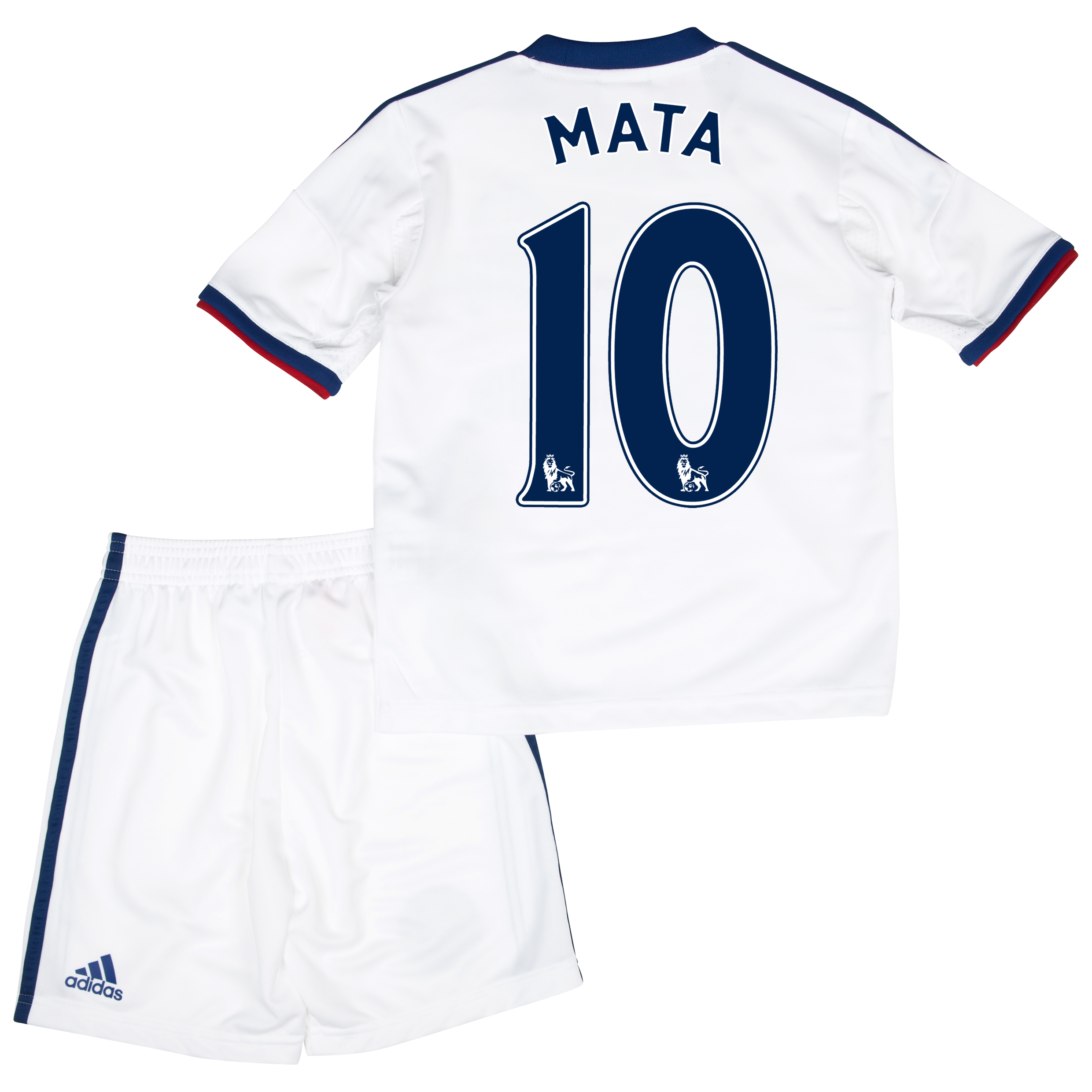 Chelsea Away Mini Kit 2013/14 with Mata 10 printing