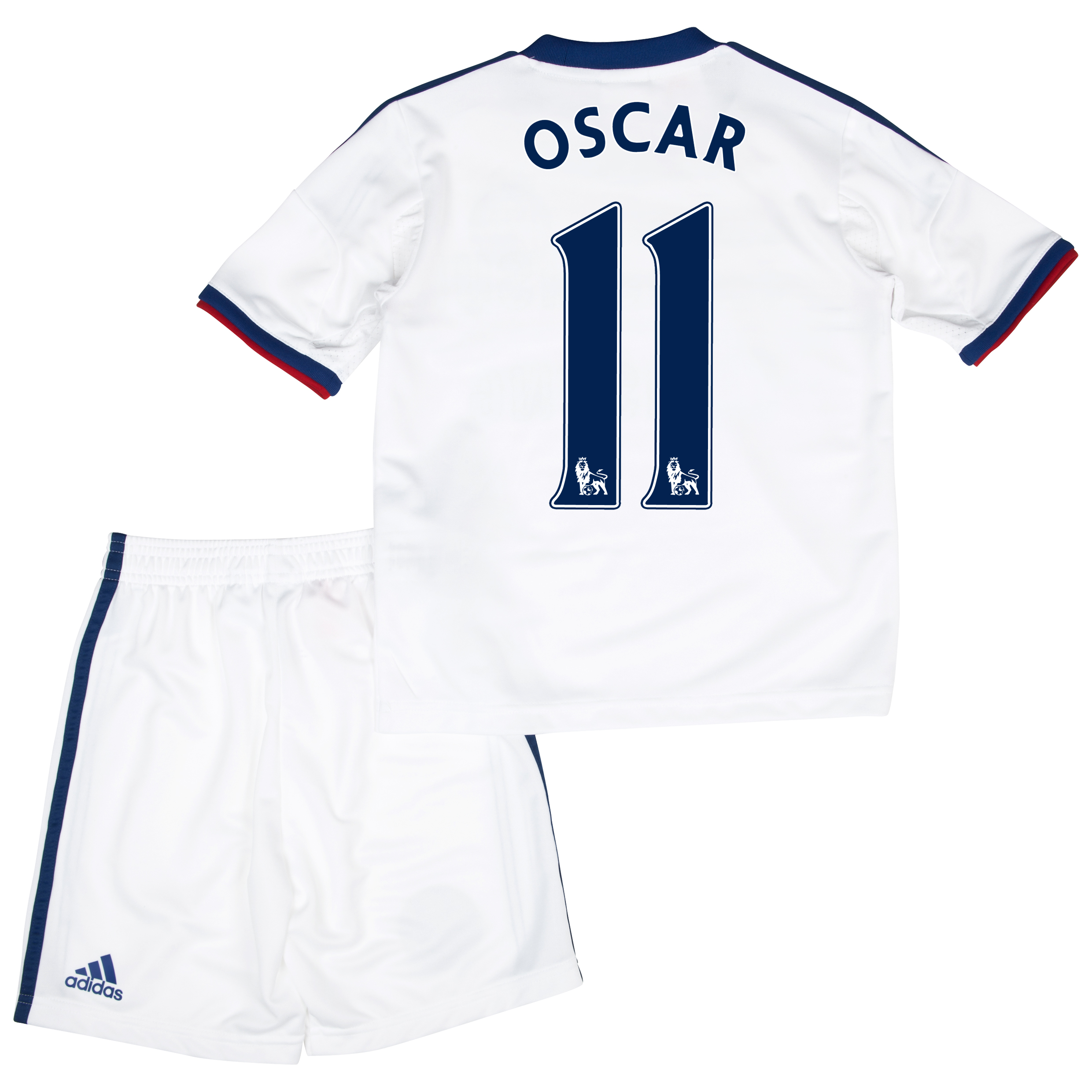 Chelsea Away Mini Kit 2013/14 with Oscar 11 printing